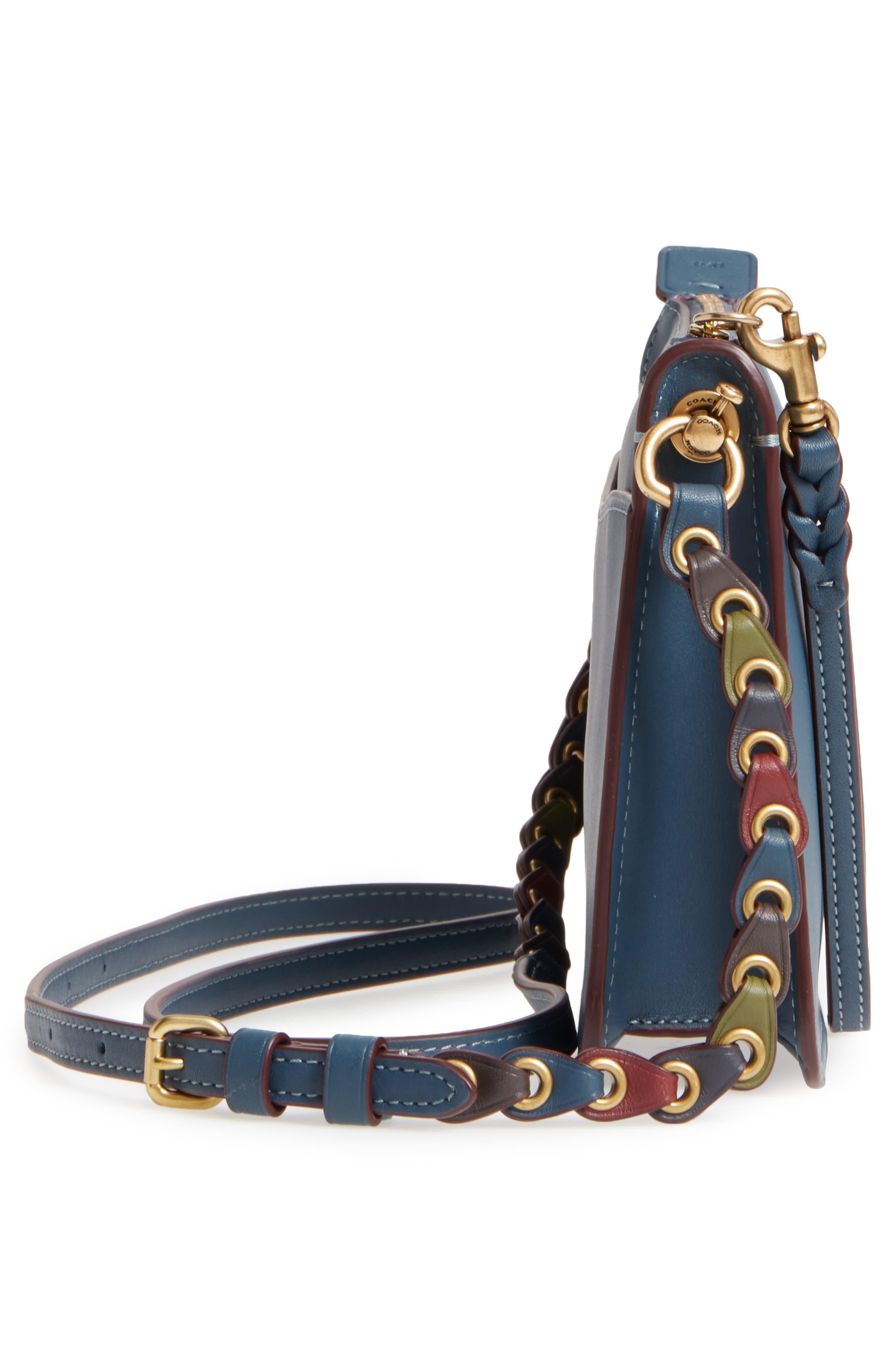 Soho Leather Crossbody Bag,                             Alternate thumbnail 5, color,