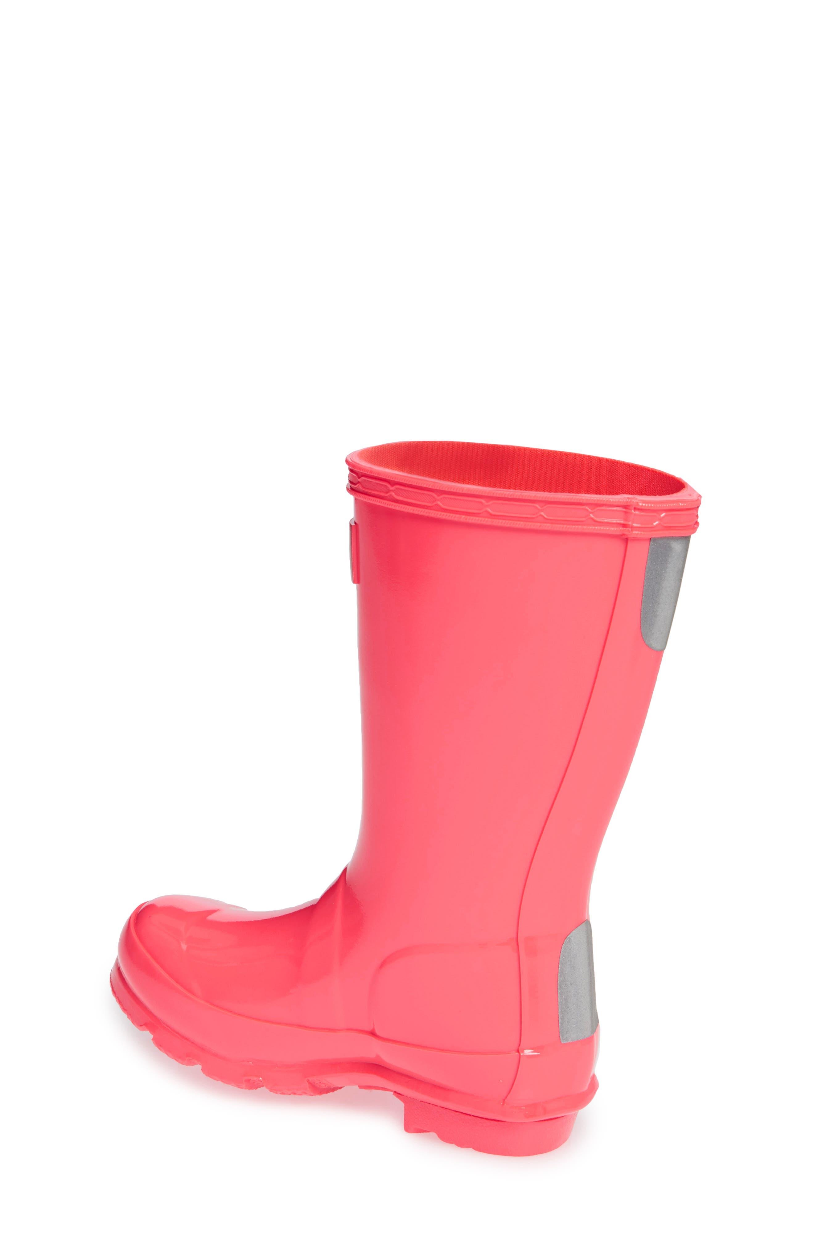 Original Gloss Rain Boot,                             Alternate thumbnail 2, color,                             HYPER PINK