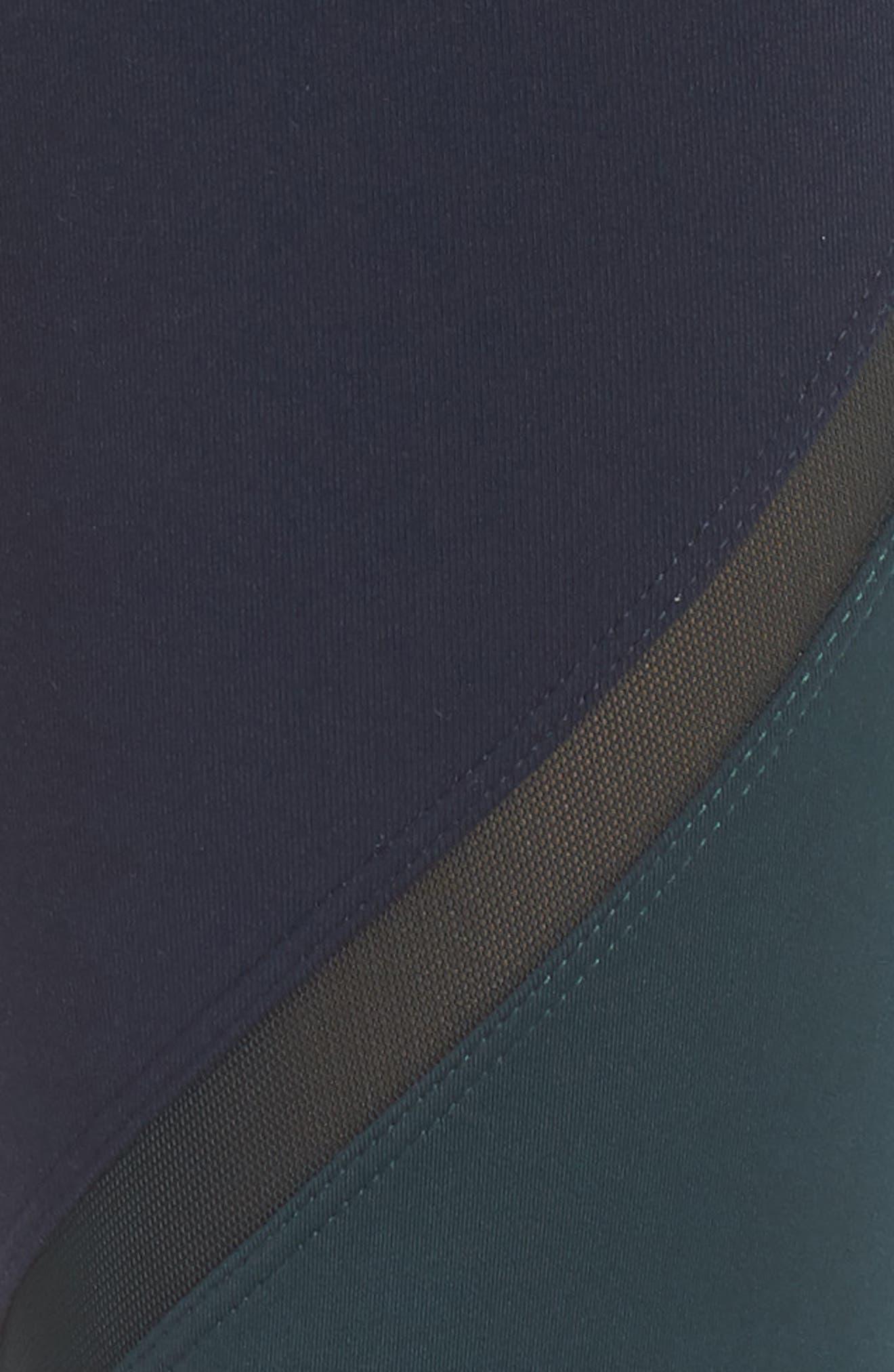 'Jordan Infinity' Tights,                             Alternate thumbnail 6, color,                             INDIGO/ DARK FOREST