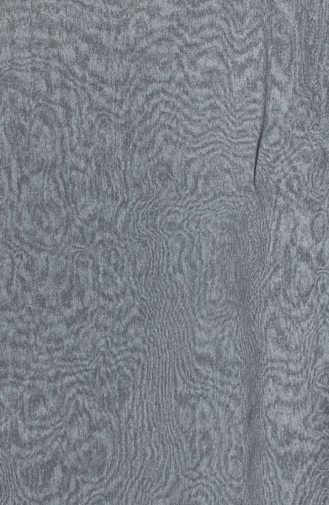 Silk Chiffon Wrap,                             Alternate thumbnail 7, color,                             BLACK