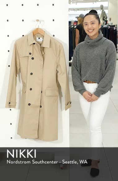 Peached Trench Coat, sales video thumbnail