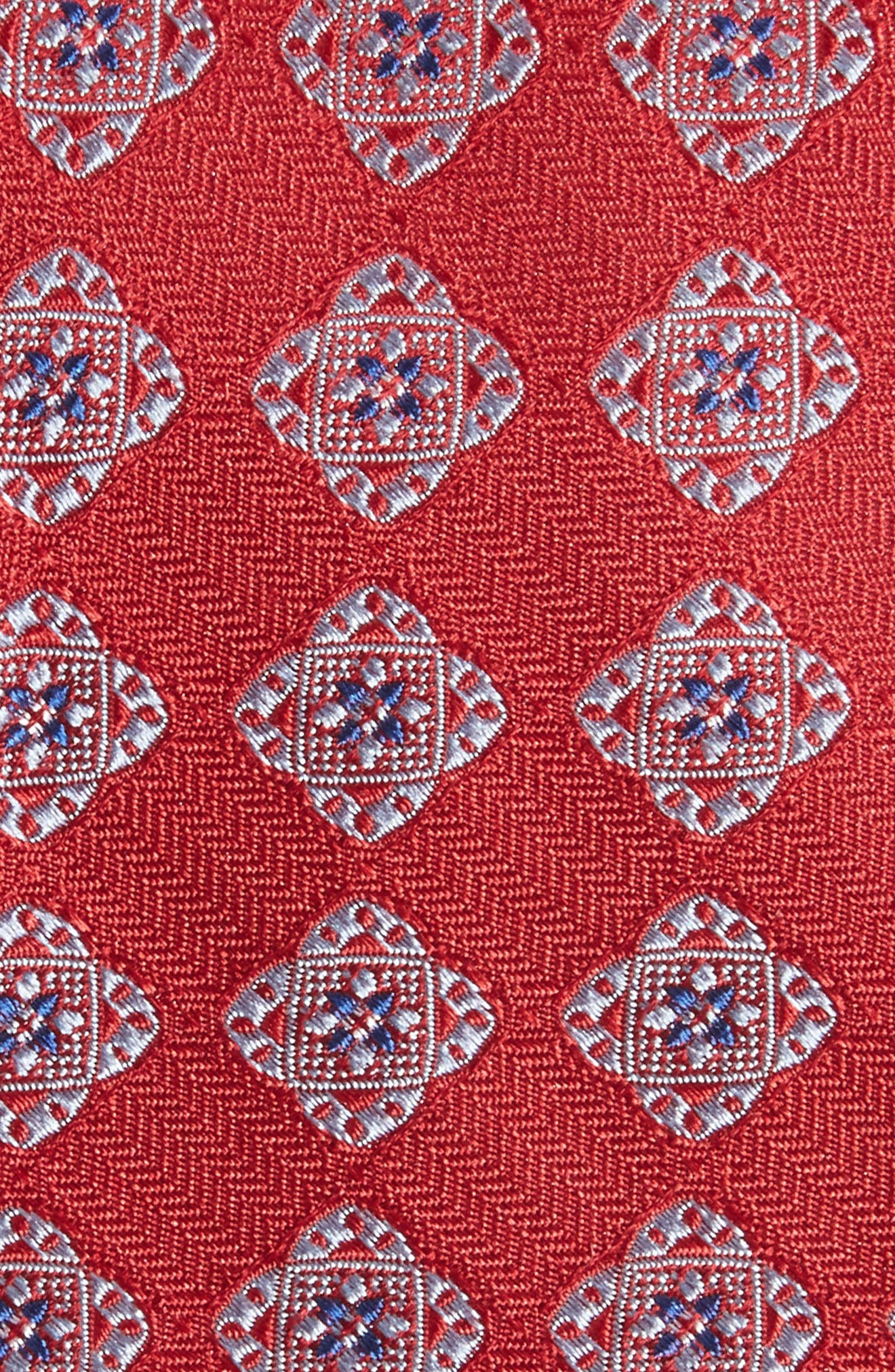 Medallion Silk Tie,                             Alternate thumbnail 6, color,