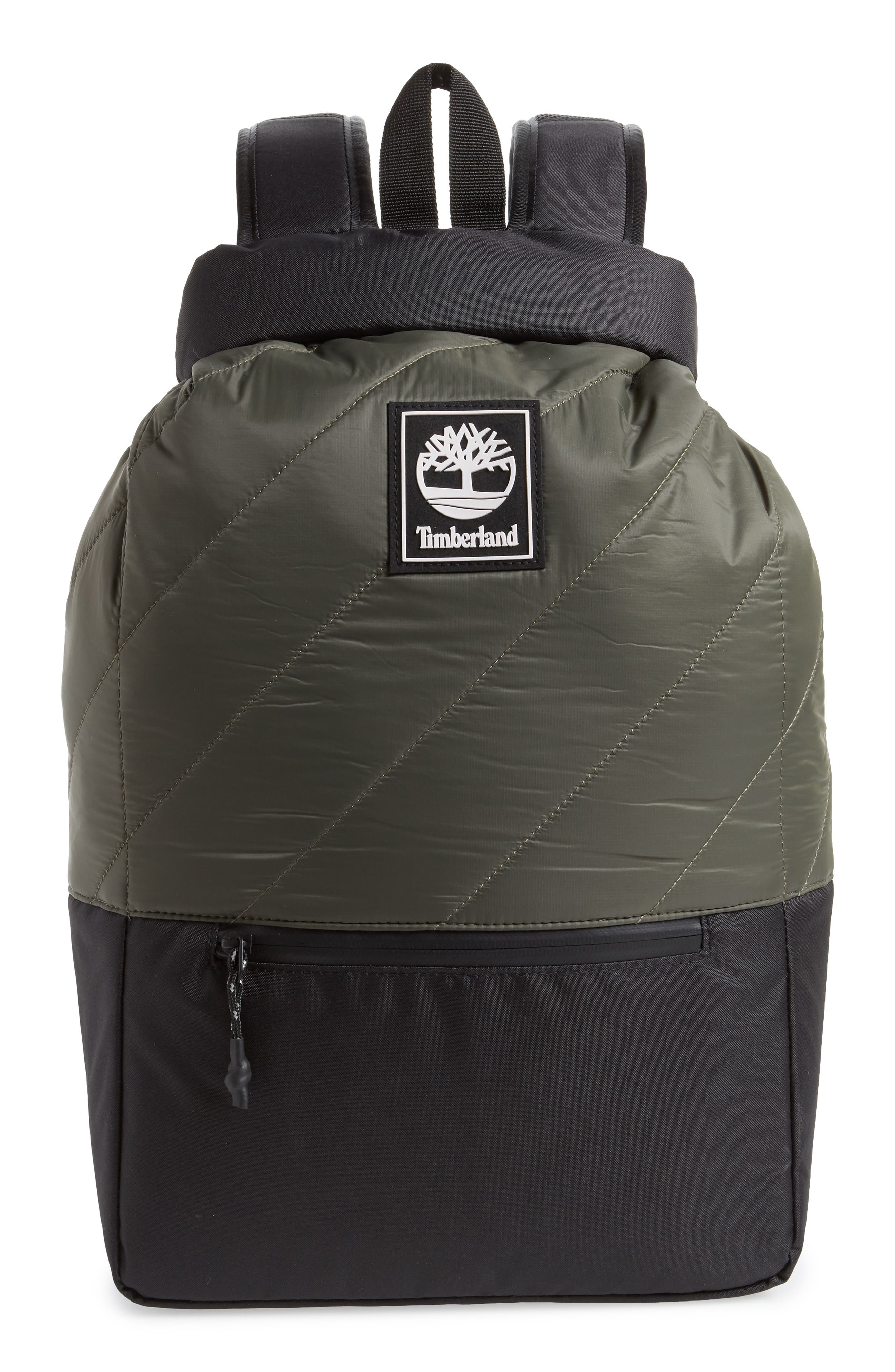 Timberland Roll Top Backpack - Green