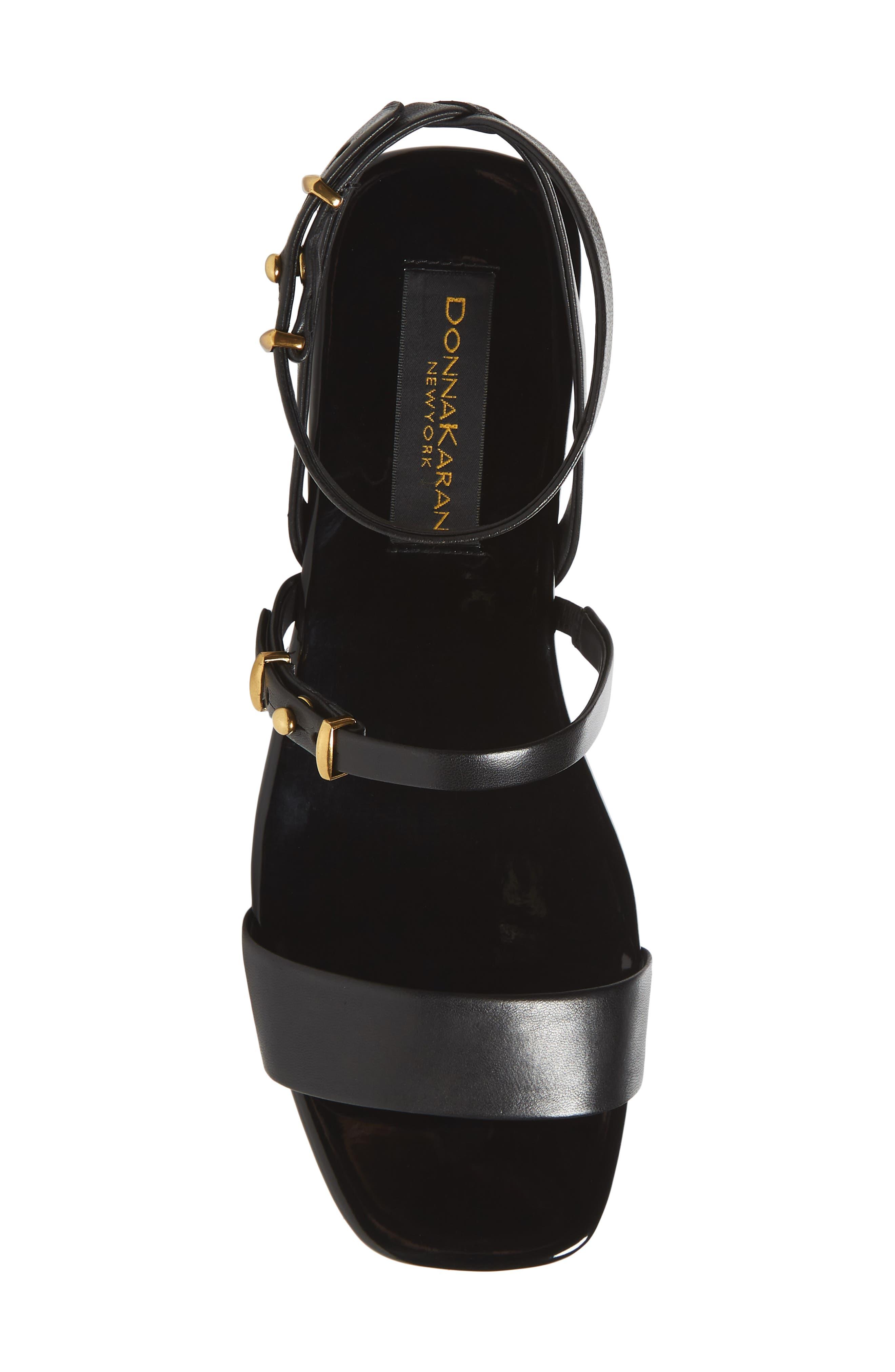 Ankle Strap Wedge Sandal,                             Alternate thumbnail 9, color,