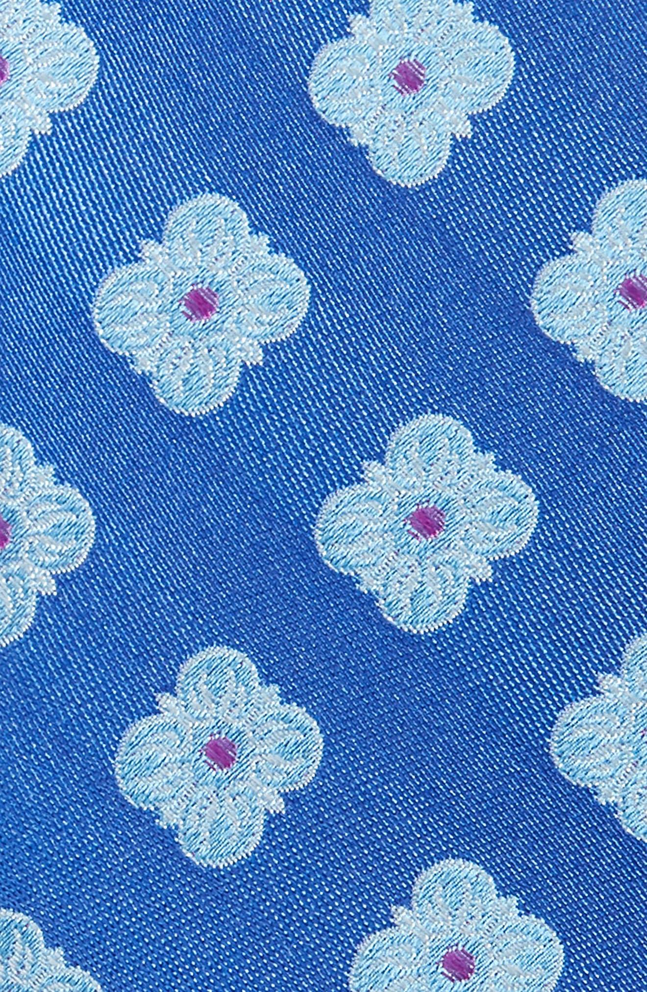 Cameron Floral Medallion Silk Tie,                             Alternate thumbnail 12, color,