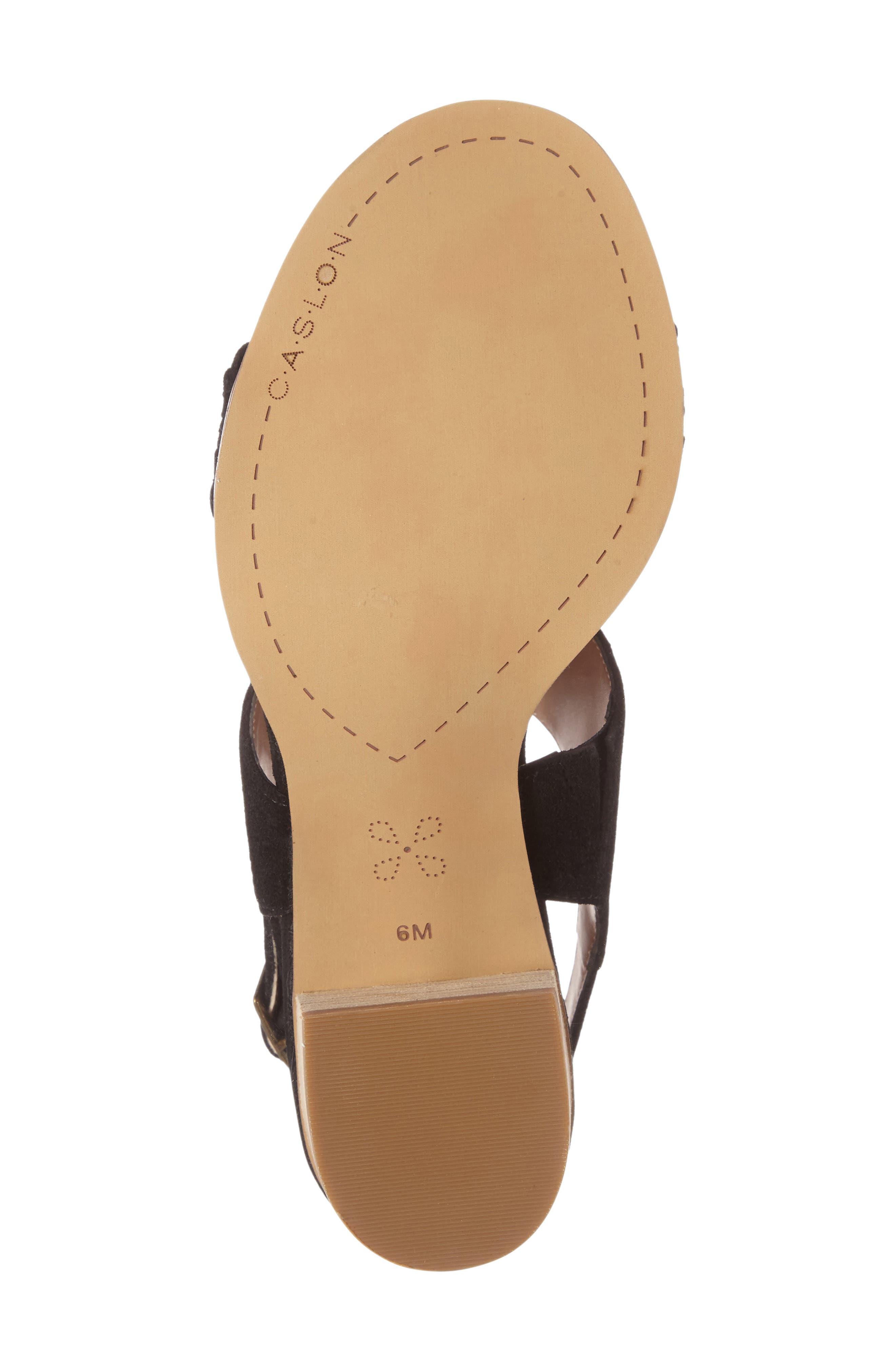 CASLON<SUP>®</SUP>,                             Carden 2 Sandal,                             Alternate thumbnail 4, color,                             001