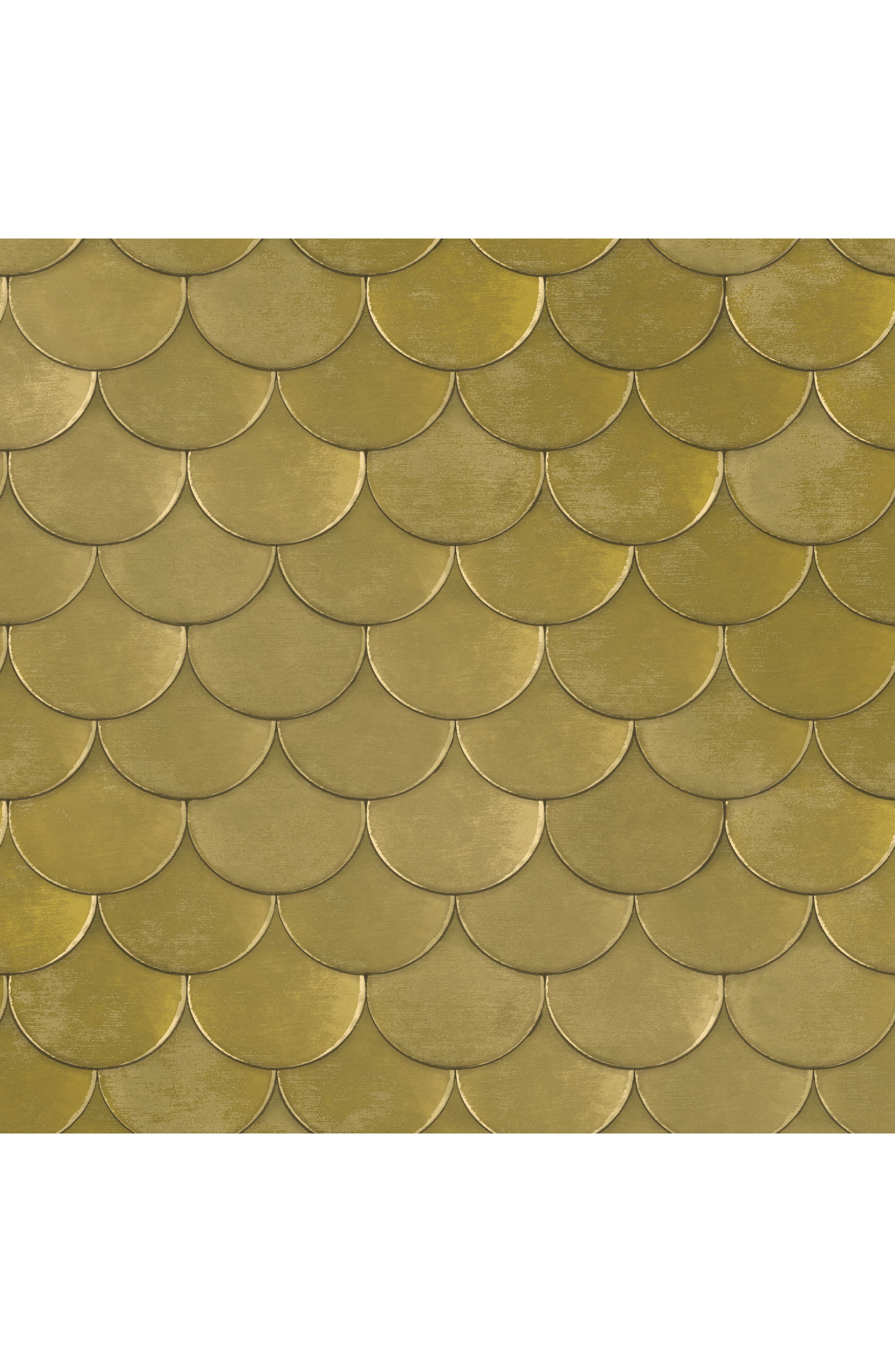 Brass Belly Self-Adhesive Vinyl Wallpaper,                             Main thumbnail 1, color,