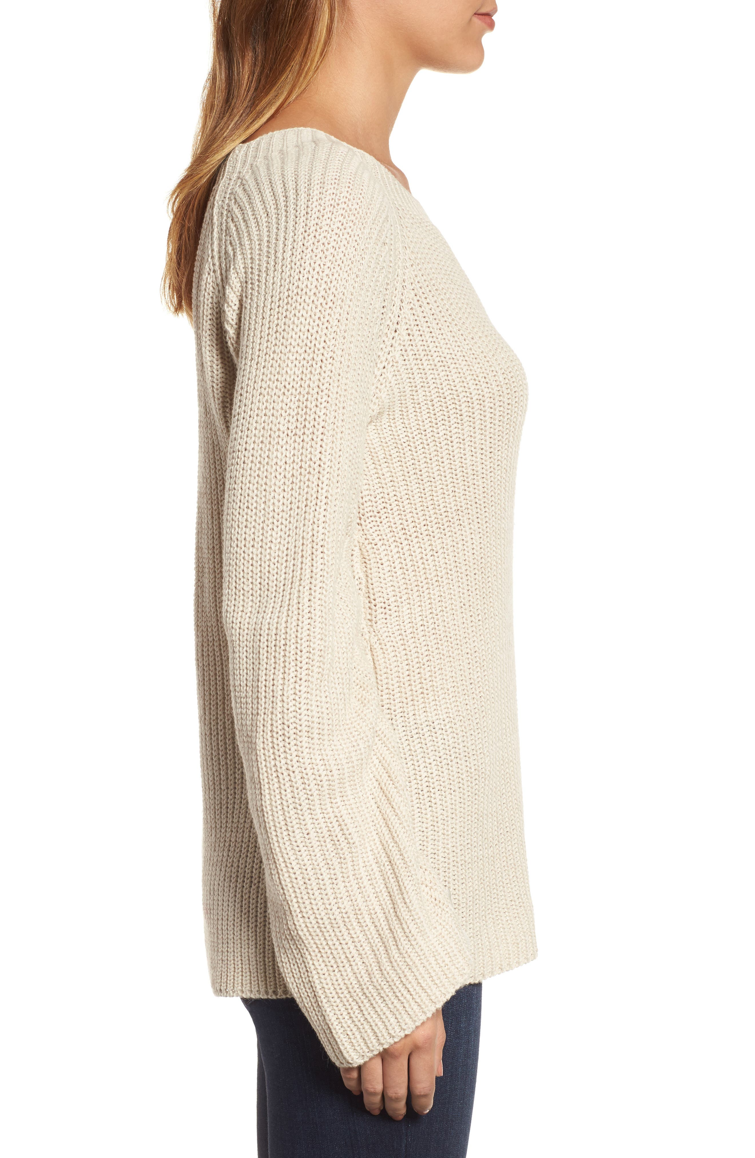 RD Style Tie Sleeve Sweater,                             Alternate thumbnail 6, color,