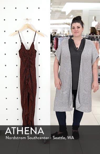 Stripe Gathered High/Low Dress, sales video thumbnail
