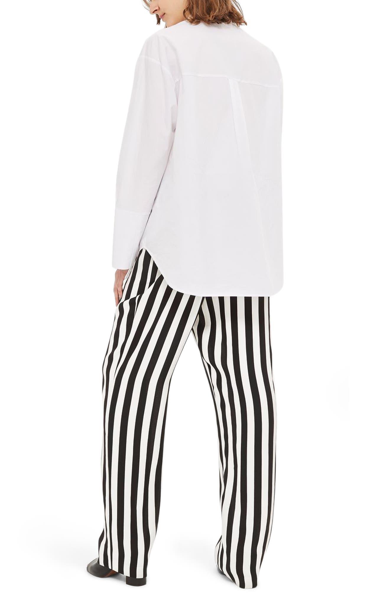 Humbug Stripe Trousers,                             Alternate thumbnail 2, color,                             001