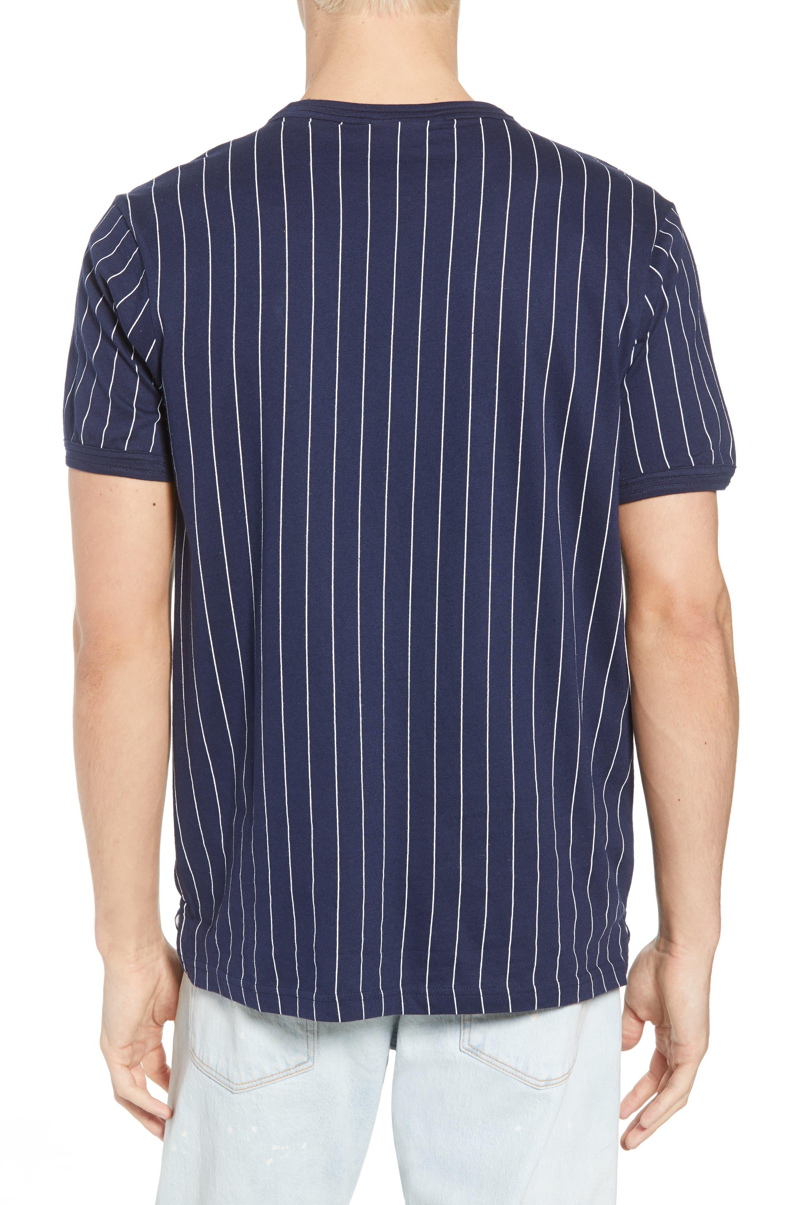 Guilo T-Shirt,                             Alternate thumbnail 2, color,                             PEACOAT/ WHITE