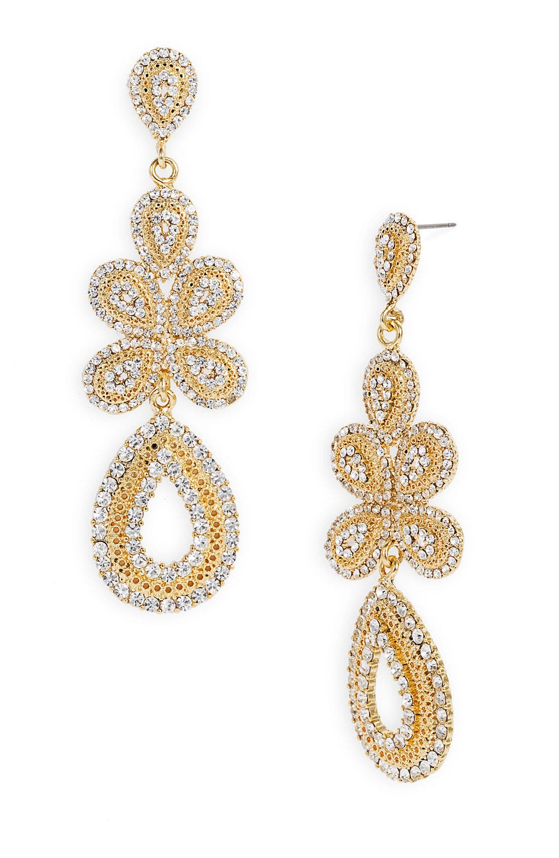 'Ornate' Linear Statement Earrings,                             Main thumbnail 16, color,