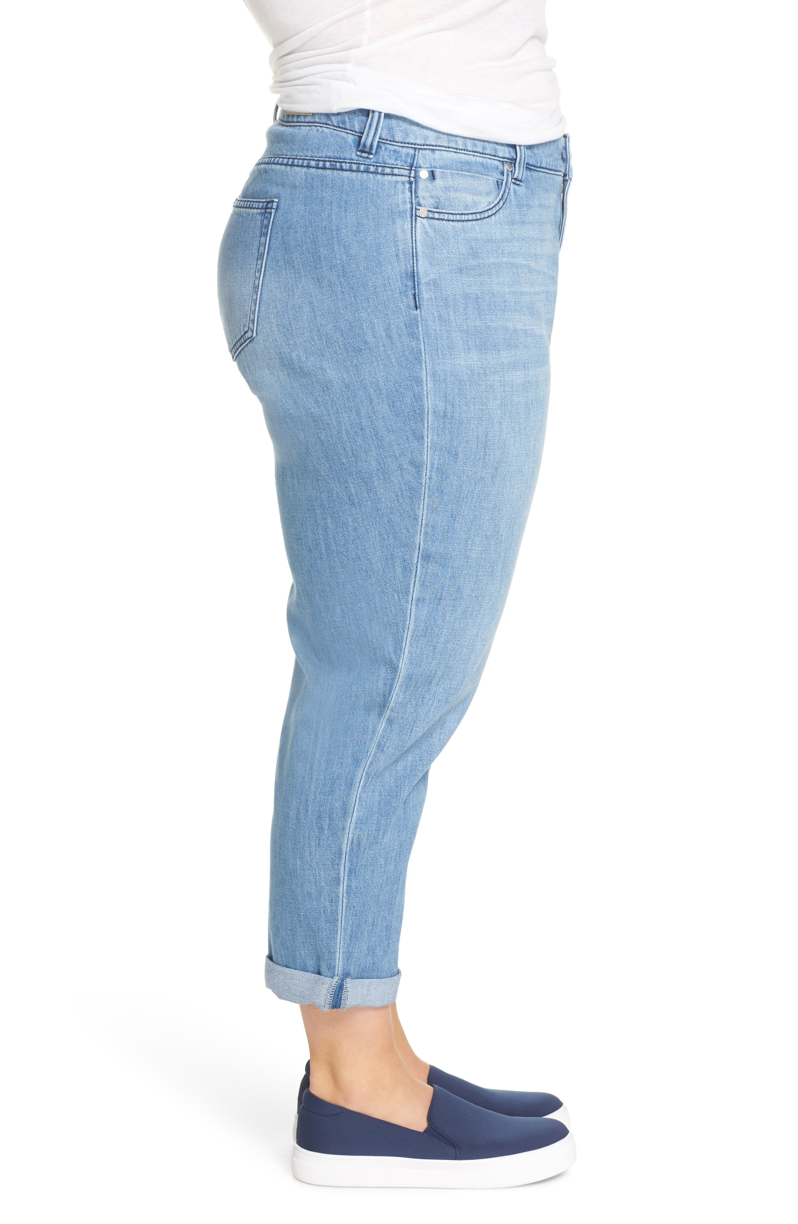 Cameron Crop Boyfriend Jeans,                             Alternate thumbnail 3, color,