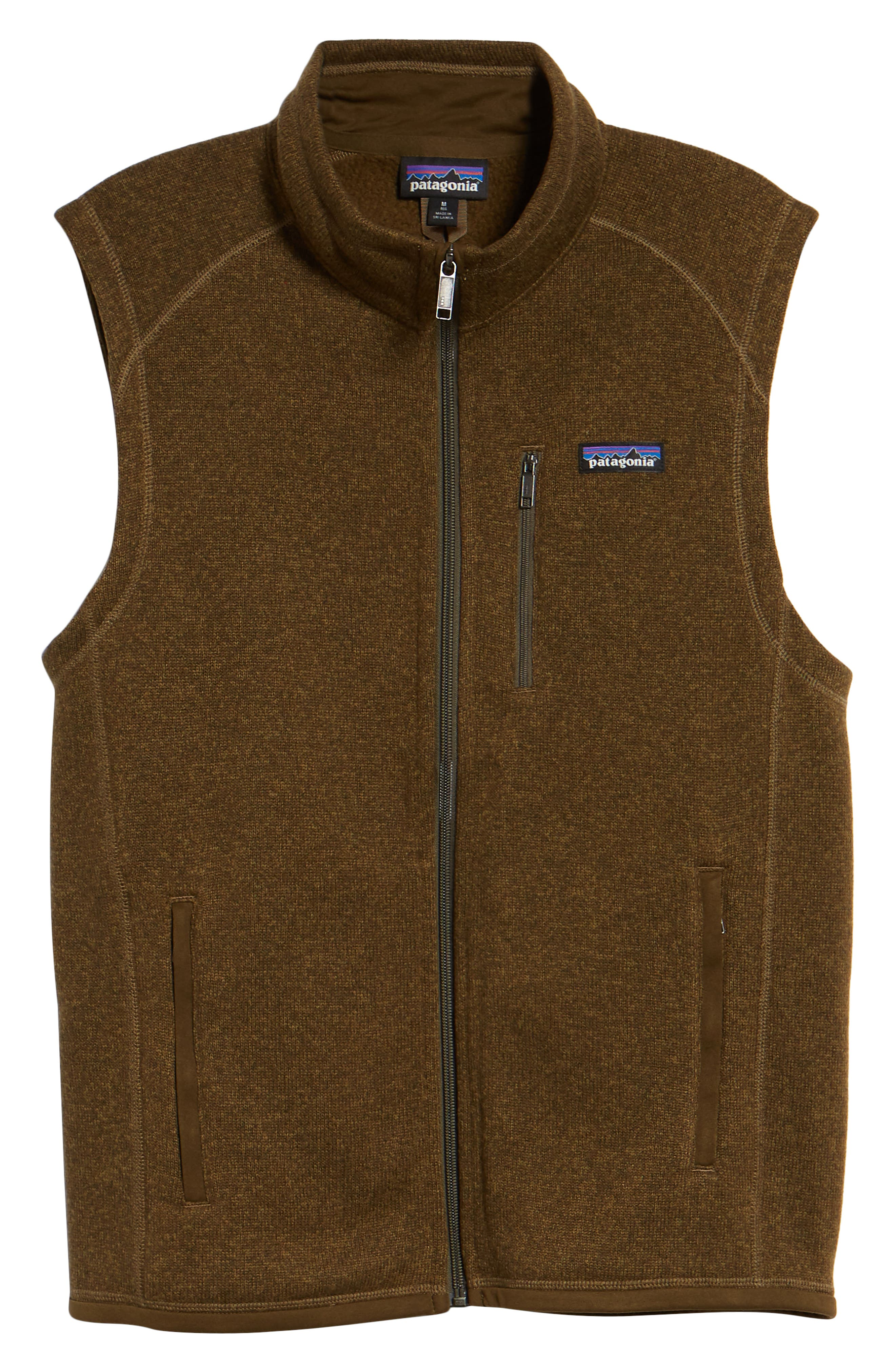'Better Sweater' Zip Front Vest,                             Alternate thumbnail 6, color,                             SEDIMENT