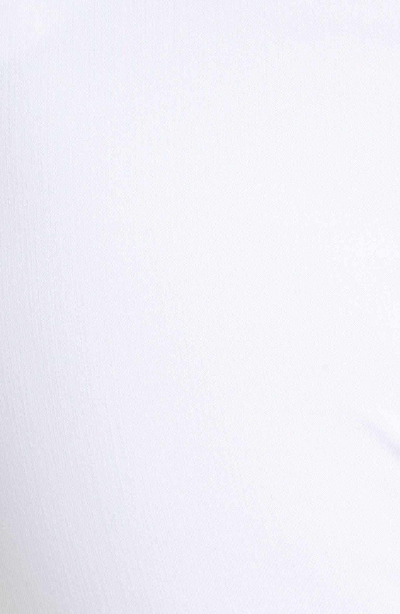 Nina Slimming Pull-On Legging Jeans,                             Alternate thumbnail 6, color,                             WHITE