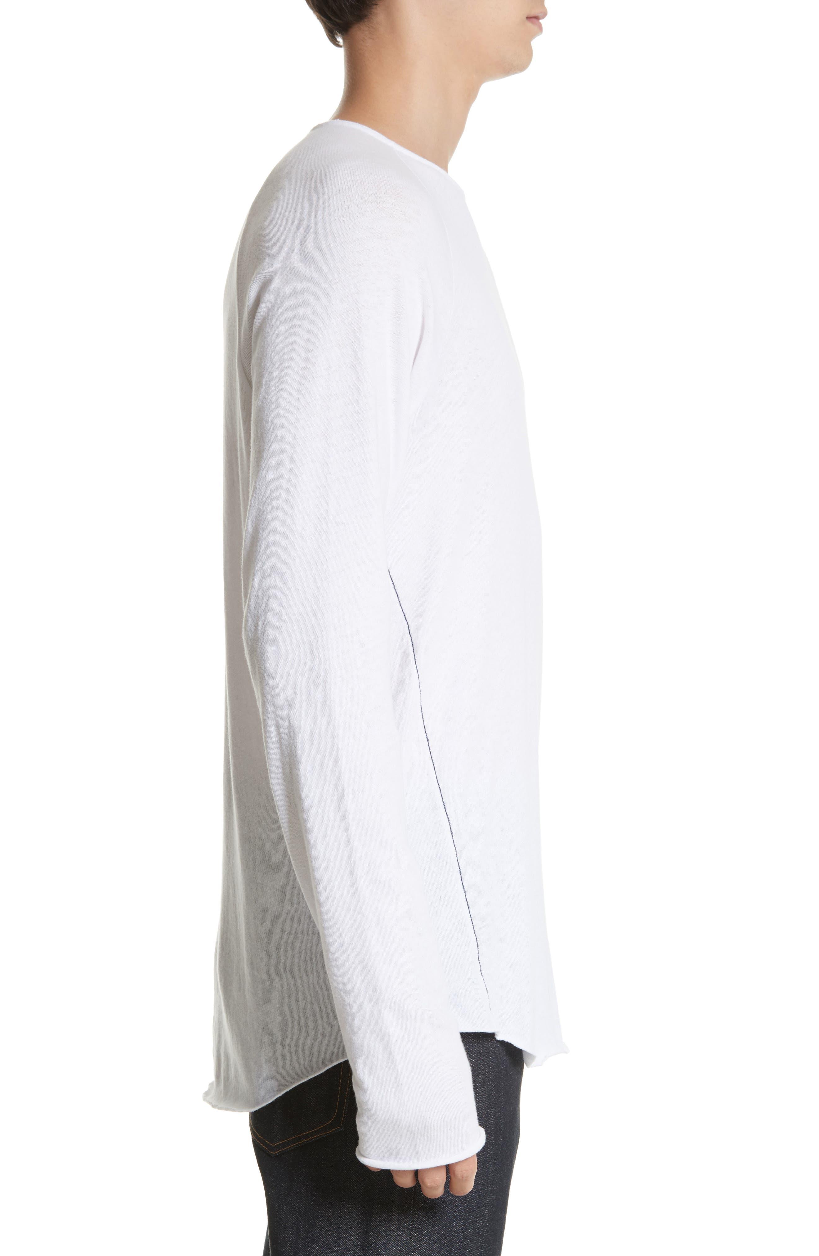 Rupert Long Sleeve T-Shirt,                             Alternate thumbnail 3, color,                             100