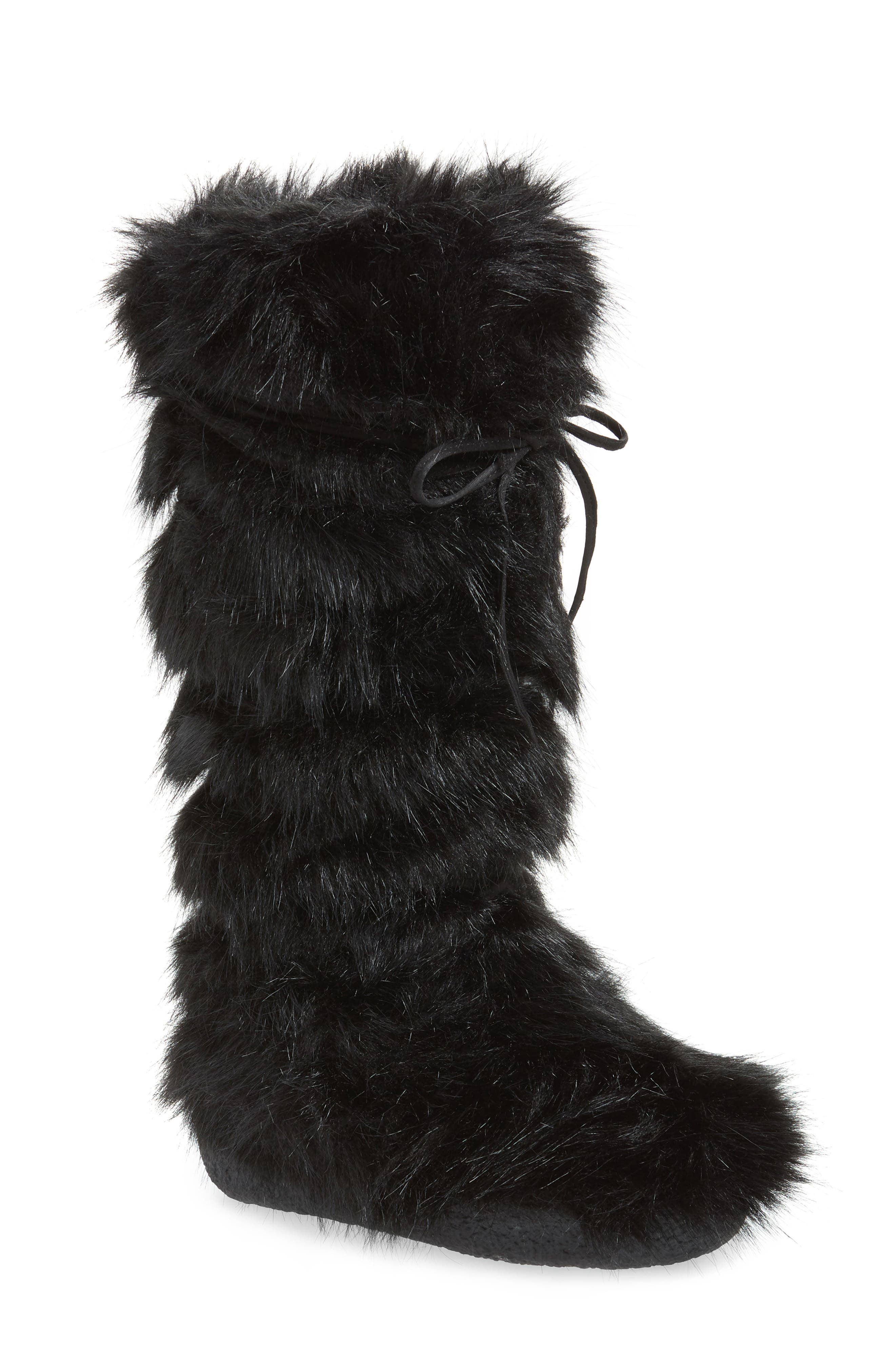 Jeffrey Campbell Iceman Faux Fur Boot