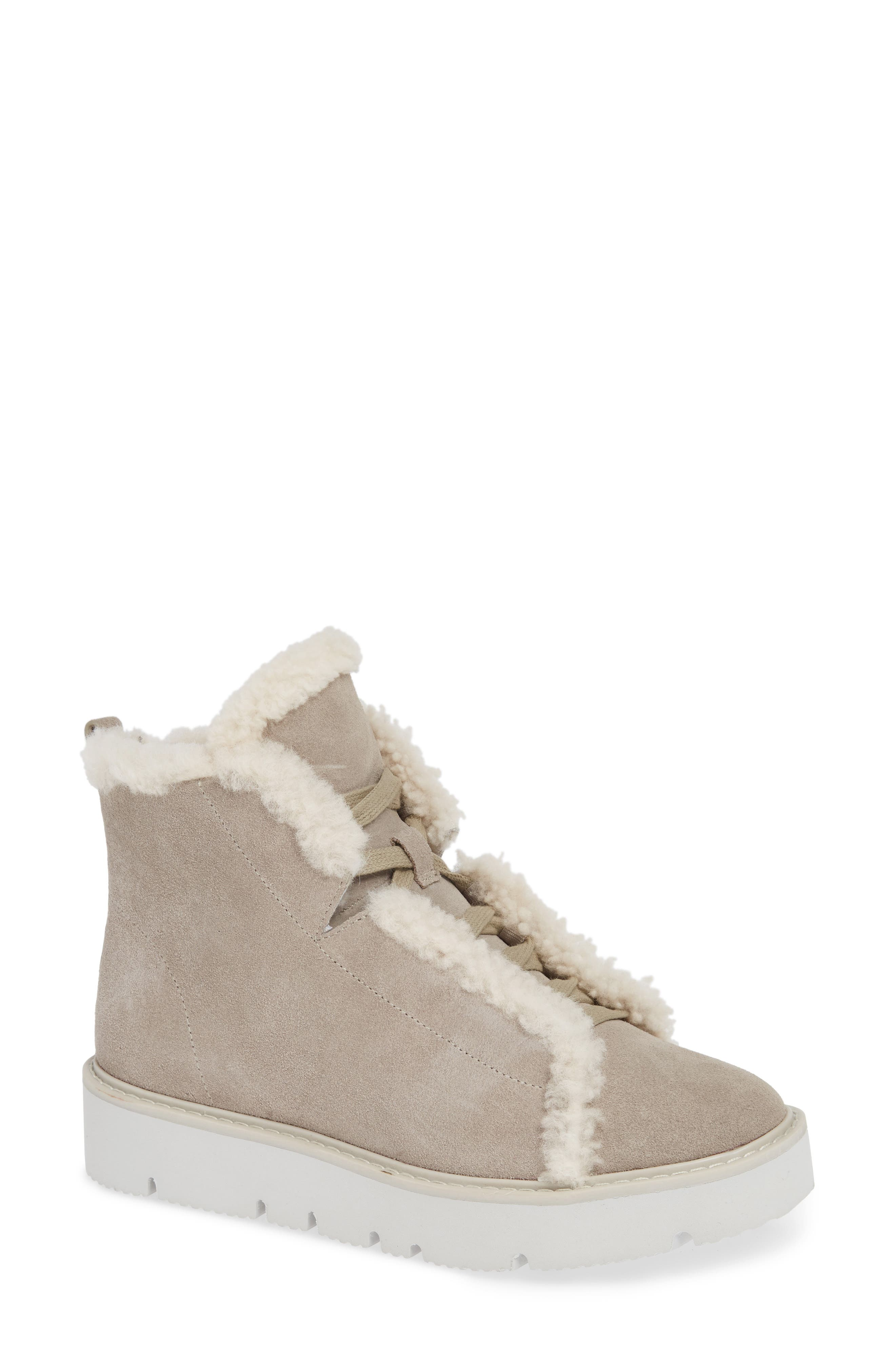 Gentle Souls BY KENNETH COLE TREVOR GENUINE SHEARLING LINED BOOTIE