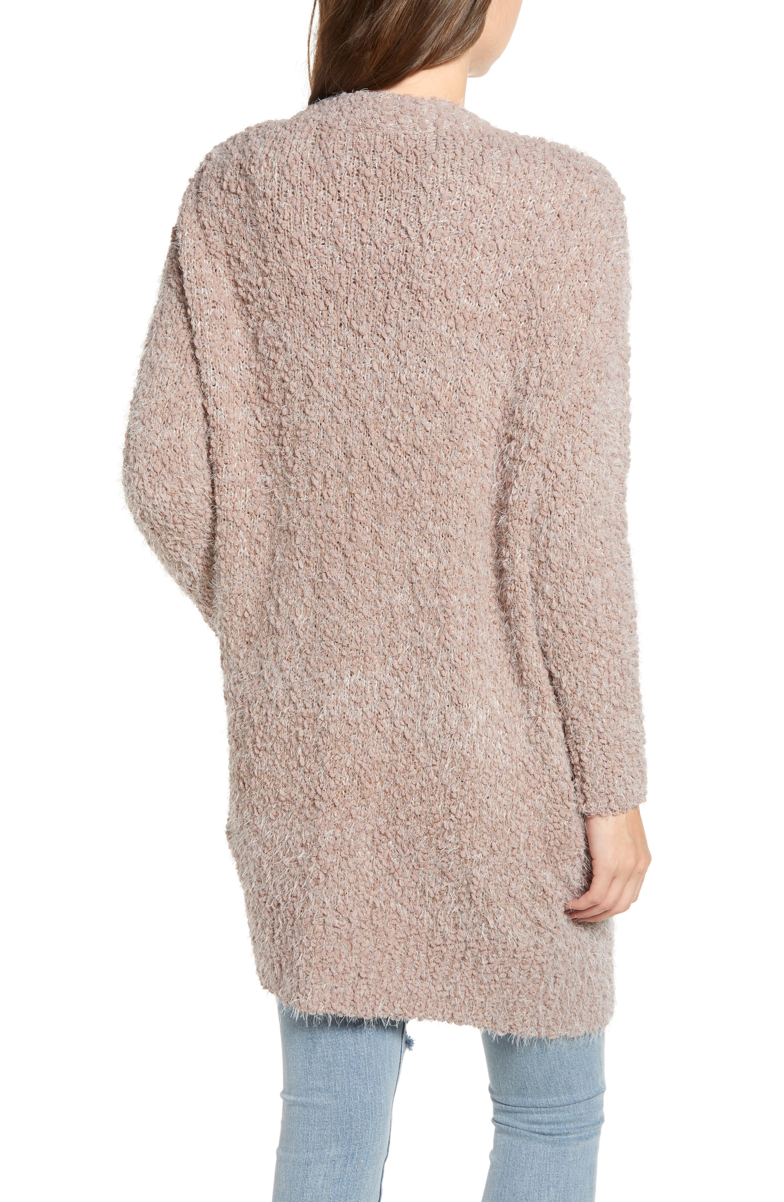 LIRA CLOTHING,                             Miranda Knit Cardigan,                             Alternate thumbnail 2, color,                             DUSTY ROSE