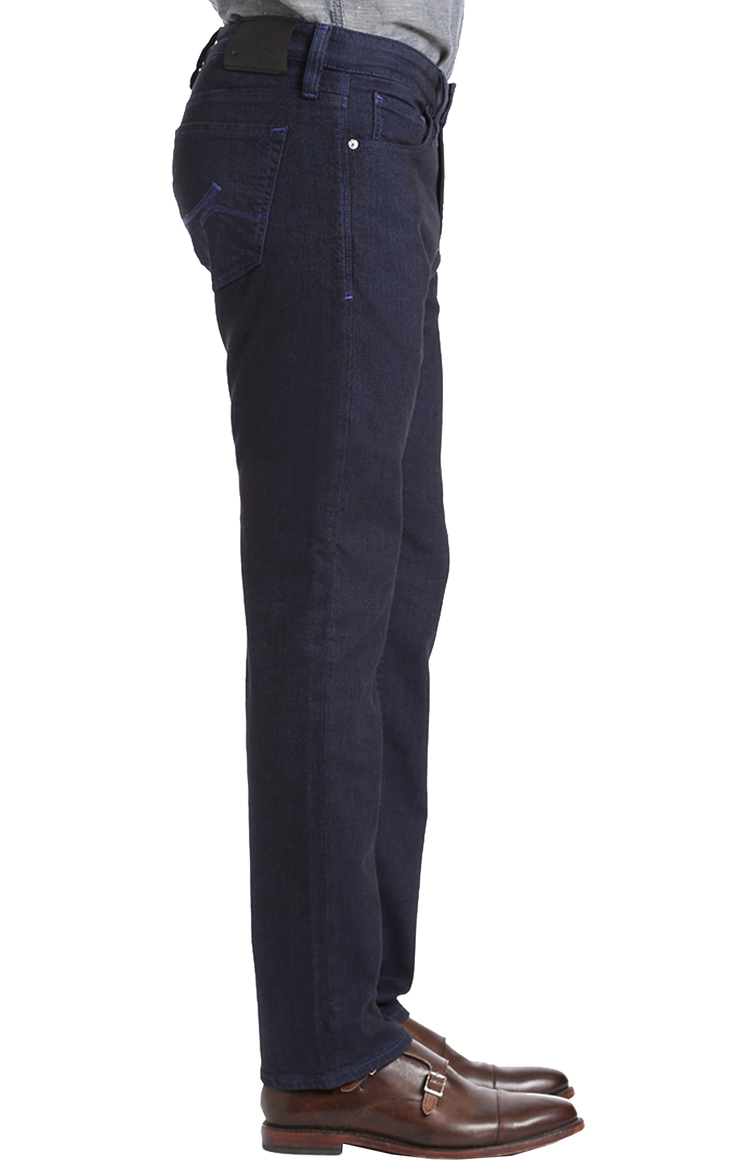 Courage Straight Leg Jeans,                             Alternate thumbnail 3, color,                             401