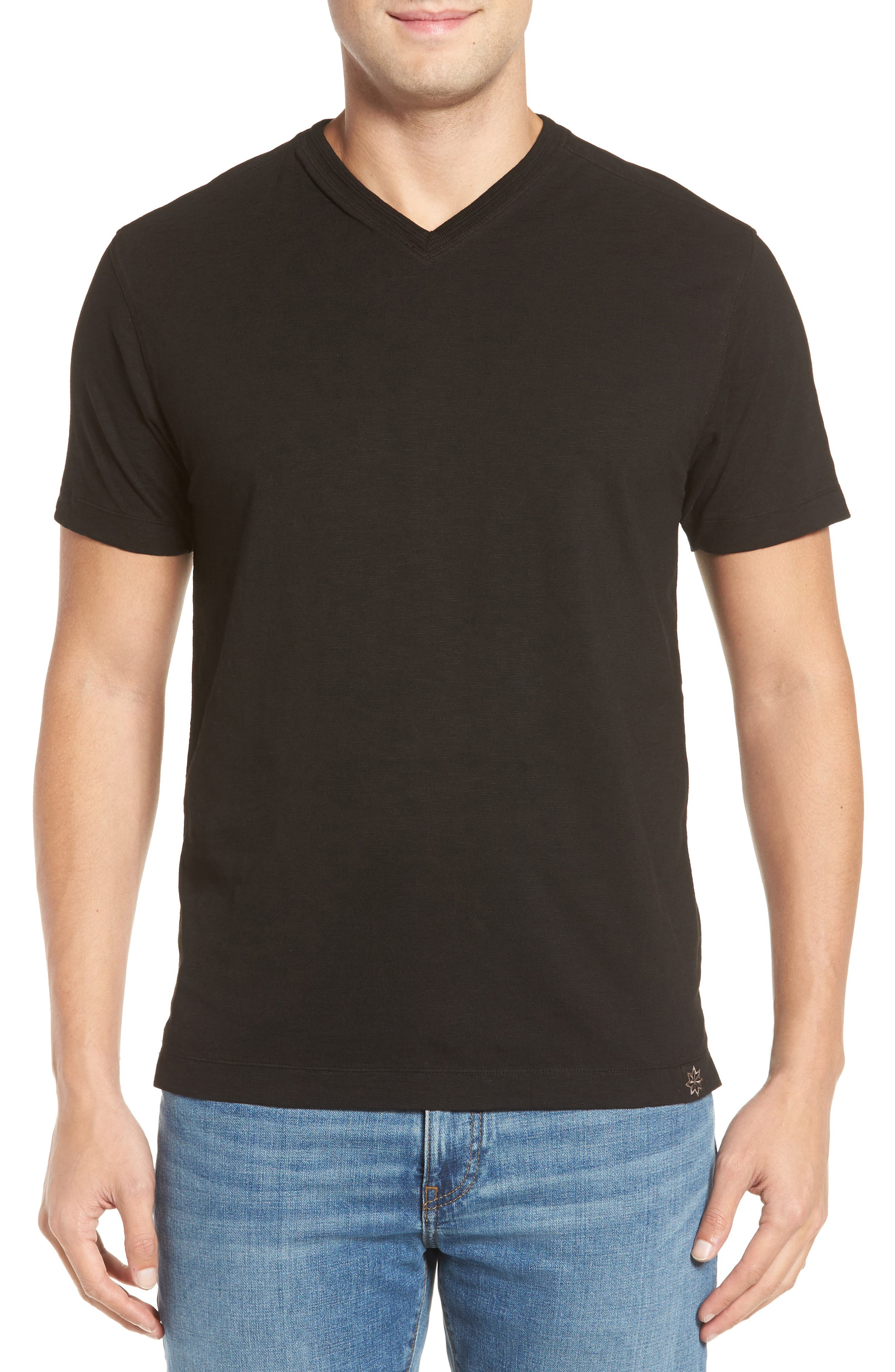 Virgil Stretch Jersey T-Shirt,                         Main,                         color, 001