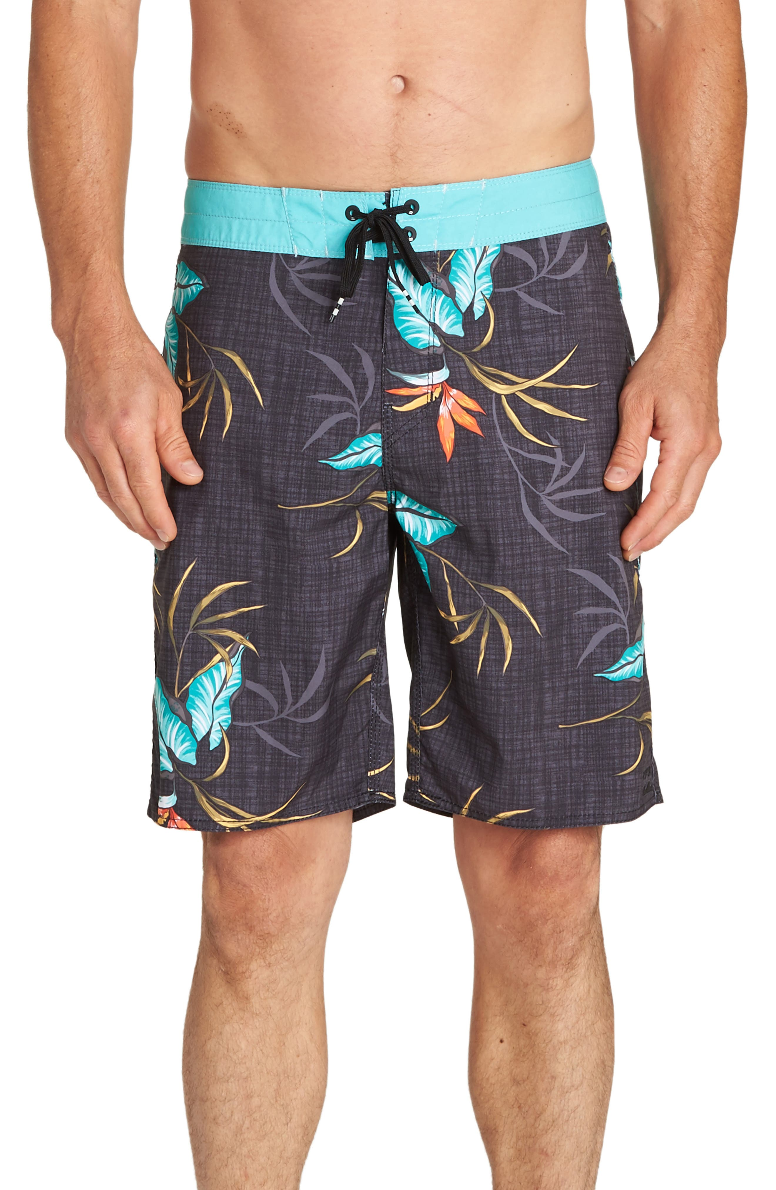 Sundays OG Board Shorts,                         Main,                         color, BLACK MULTI