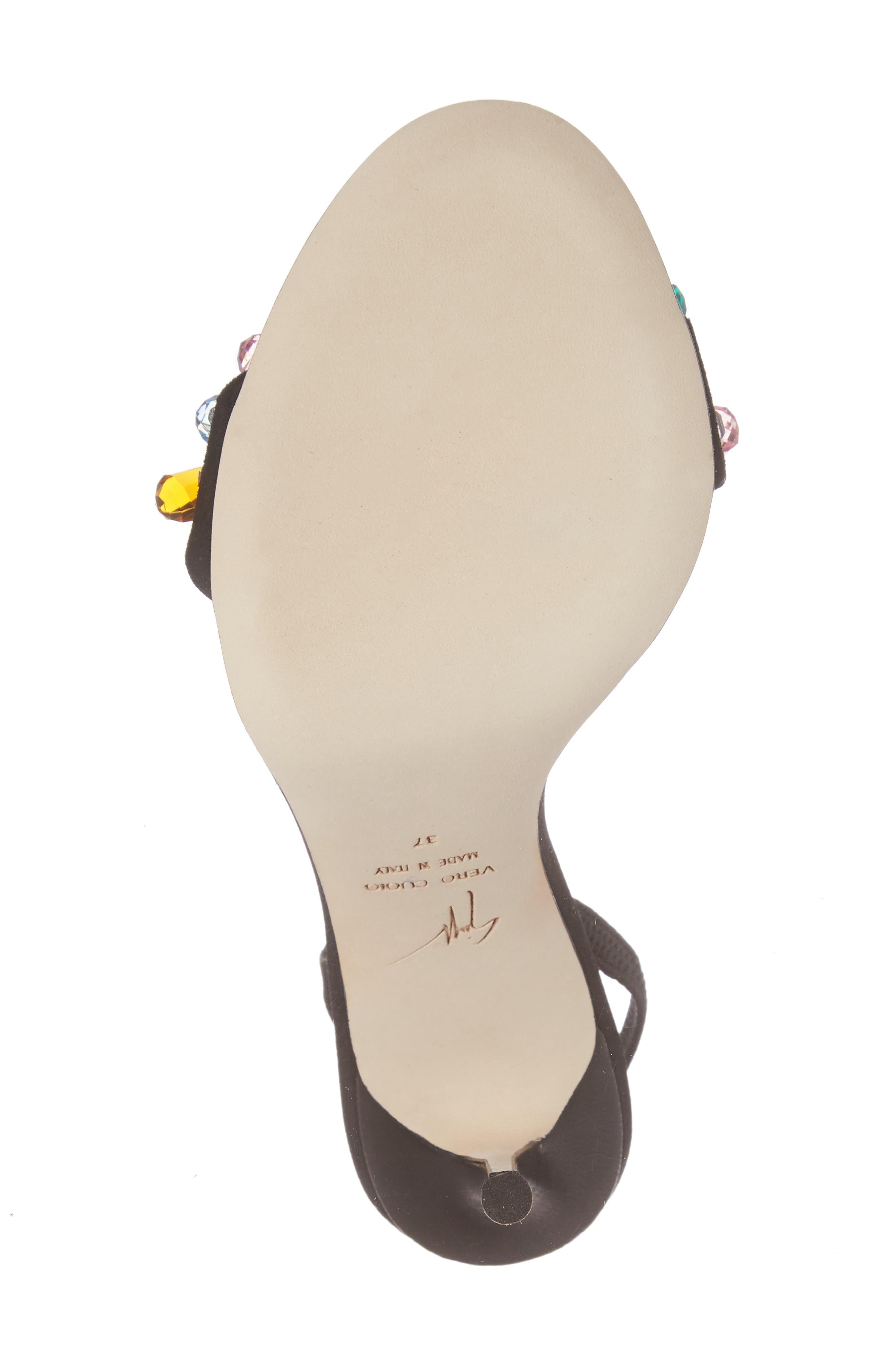 Mistico Crystal Embellished Slingback Sandal,                             Alternate thumbnail 6, color,