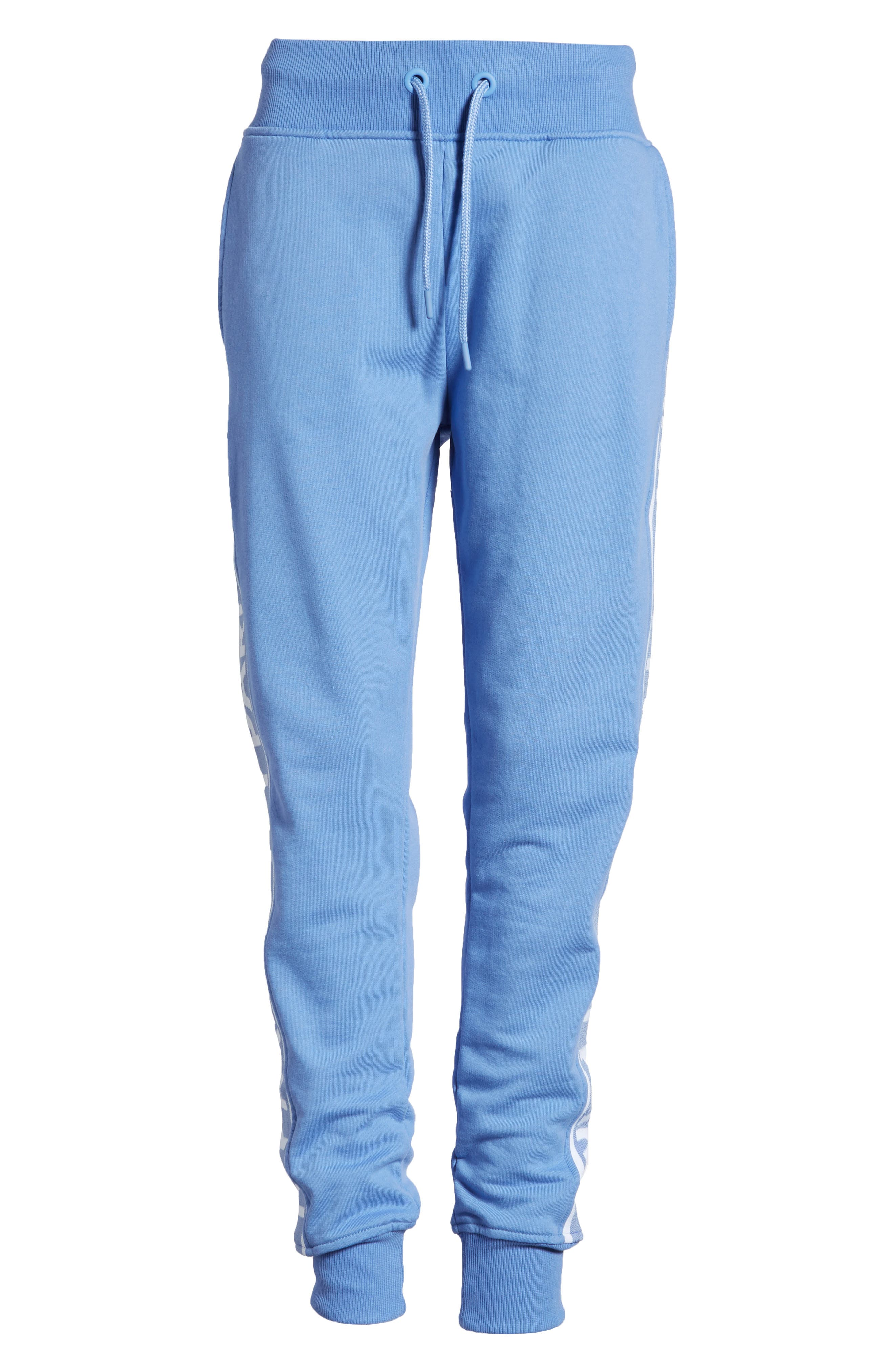 Logo Tape Jogger Pants,                             Alternate thumbnail 7, color,                             WEDGEWOOD BLUE