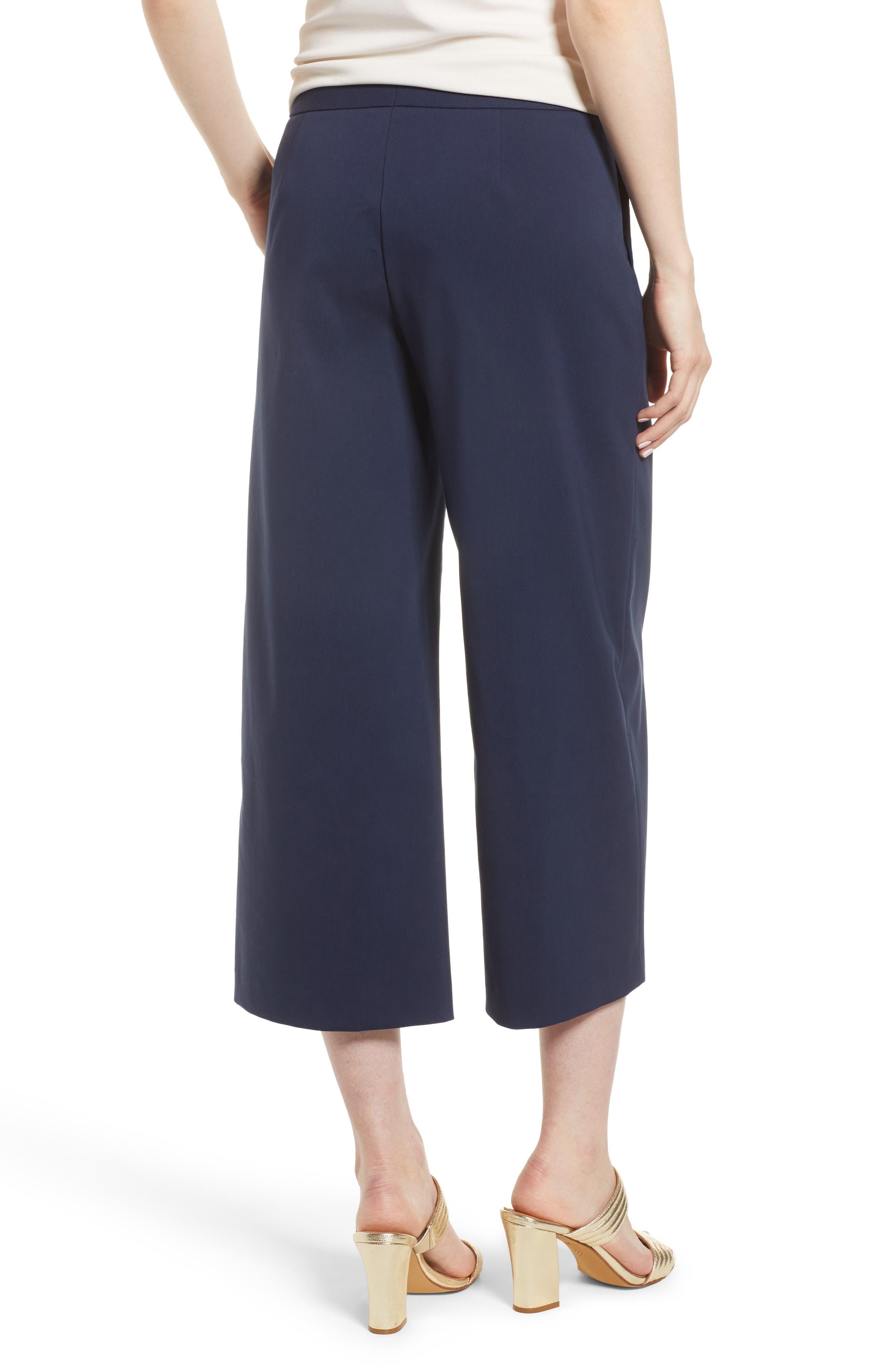 Wide Leg Crop Pants,                             Alternate thumbnail 2, color,                             410