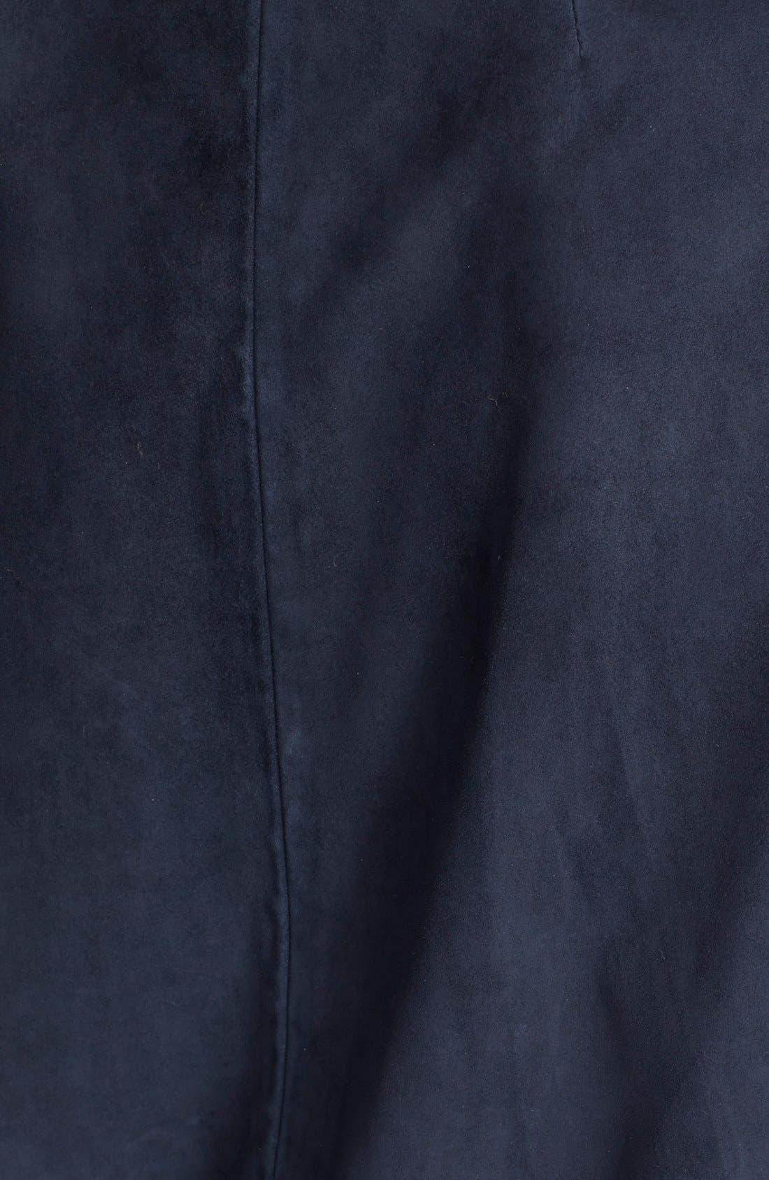 THEORY,                             'Venizka' Bonded Suede Jacket,                             Alternate thumbnail 2, color,                             410