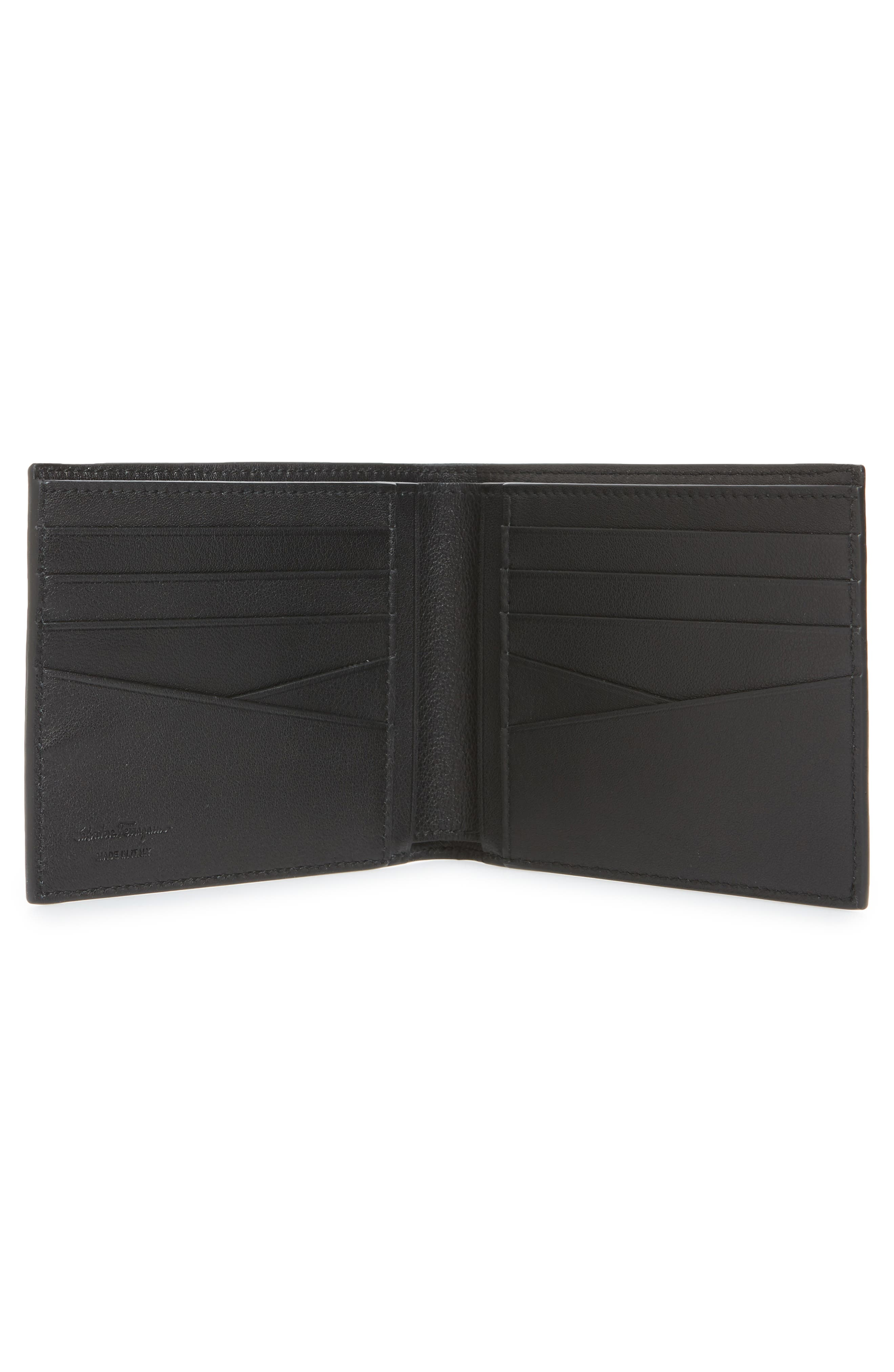 Glow Leather Wallet,                             Alternate thumbnail 2, color,