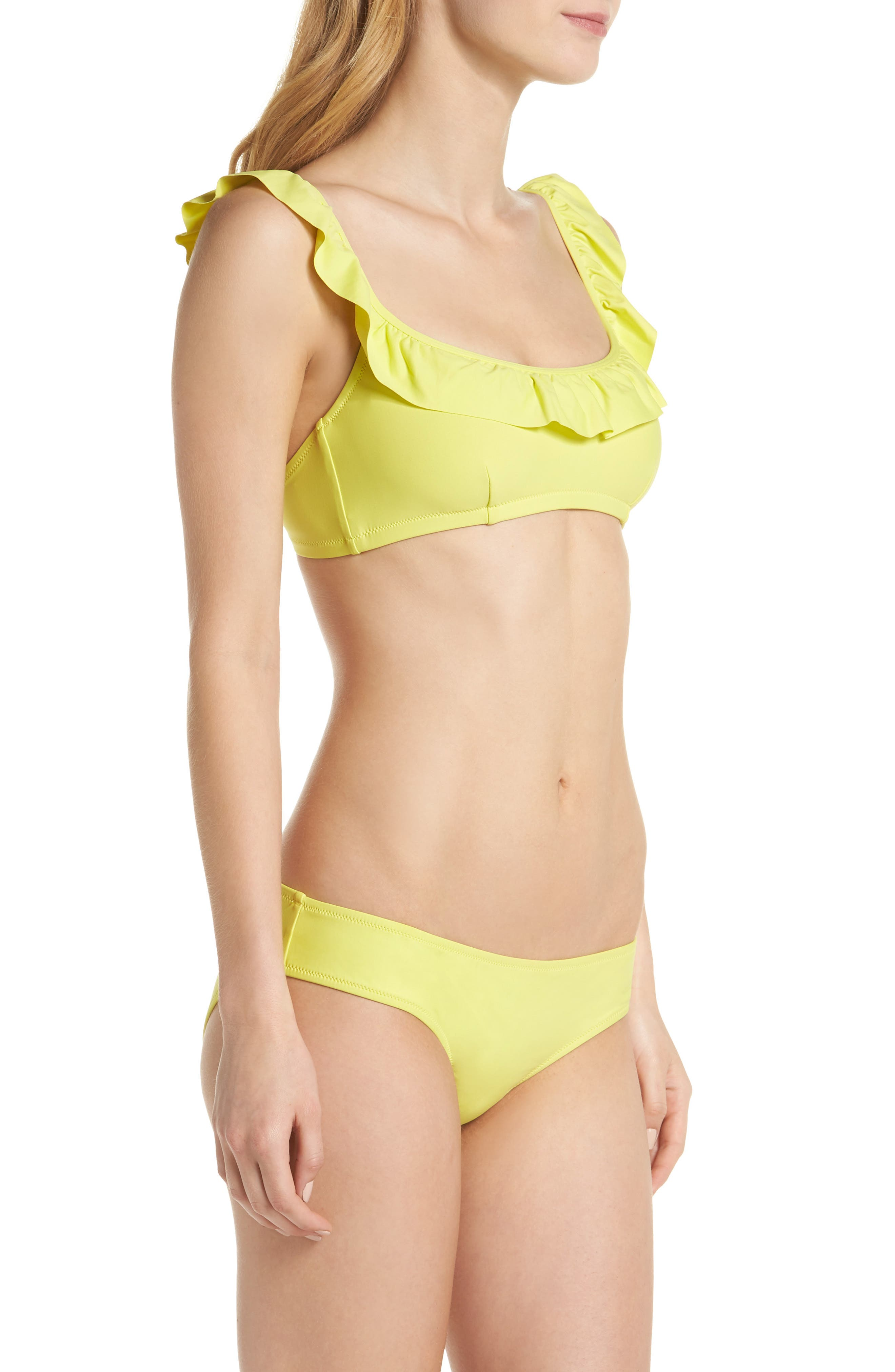 Ruffle Bikini Top,                             Alternate thumbnail 32, color,