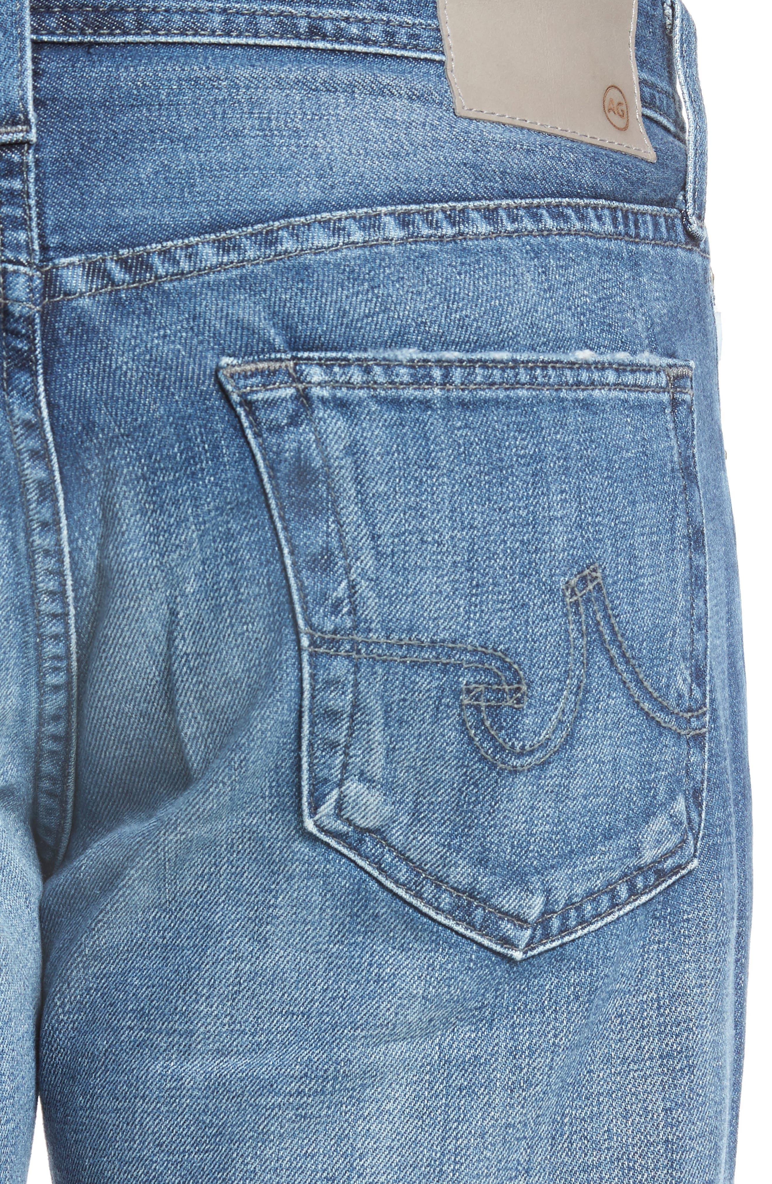 Protégé Relaxed Fit Jeans,                             Alternate thumbnail 4, color,                             472