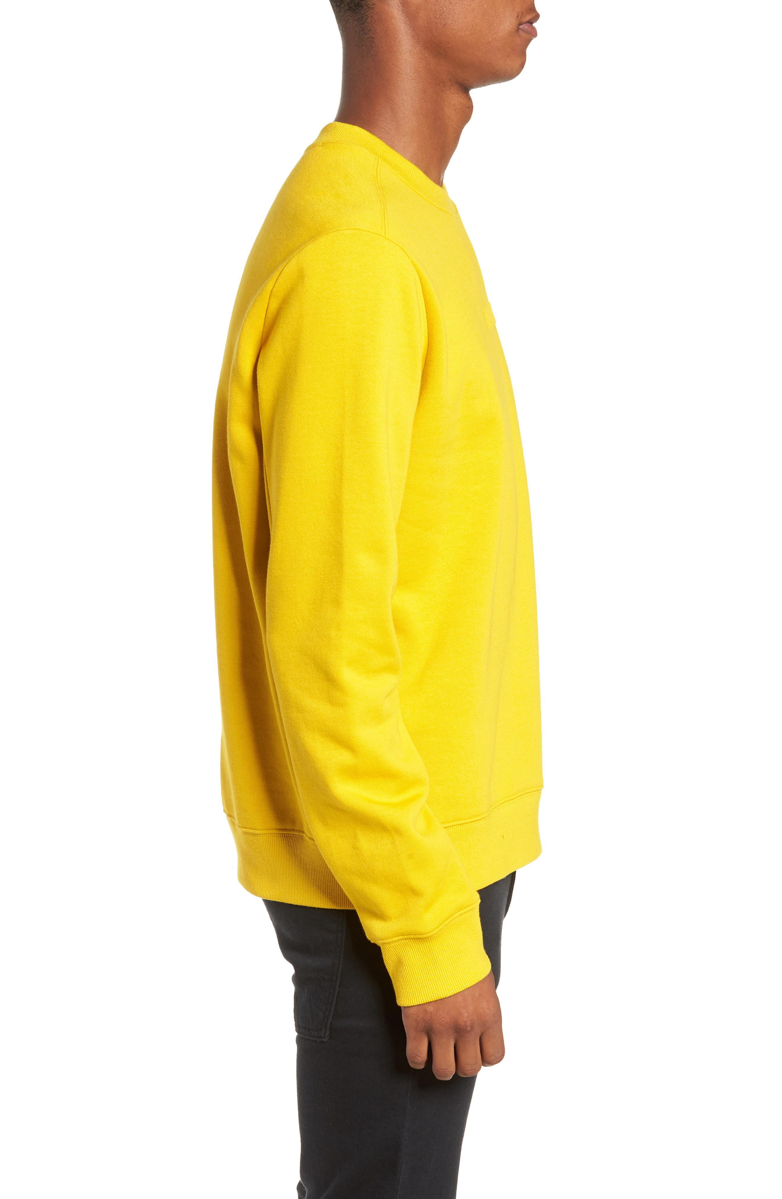 Loma Sweatshirt,                             Alternate thumbnail 3, color,                             MUSTARD YELLOW