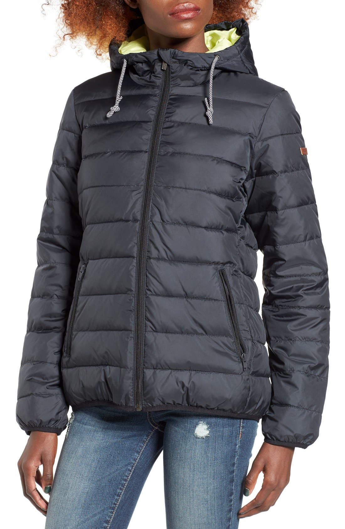 Forever Freely Puffer Jacket,                             Alternate thumbnail 8, color,