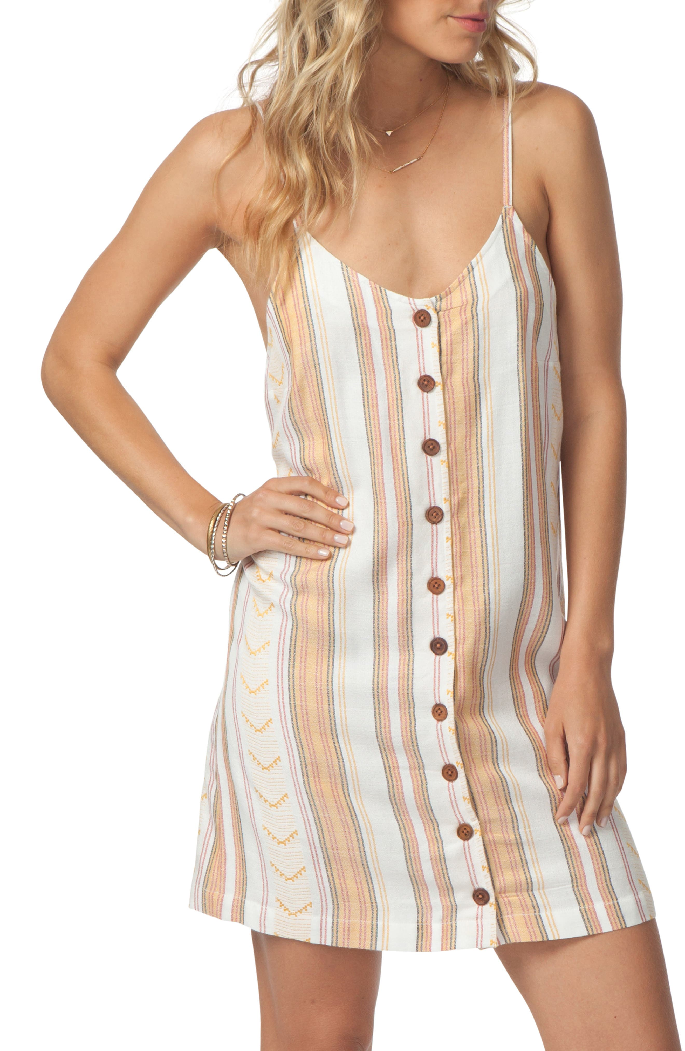 Rip Curl Sun Chaser Dress, Ivory
