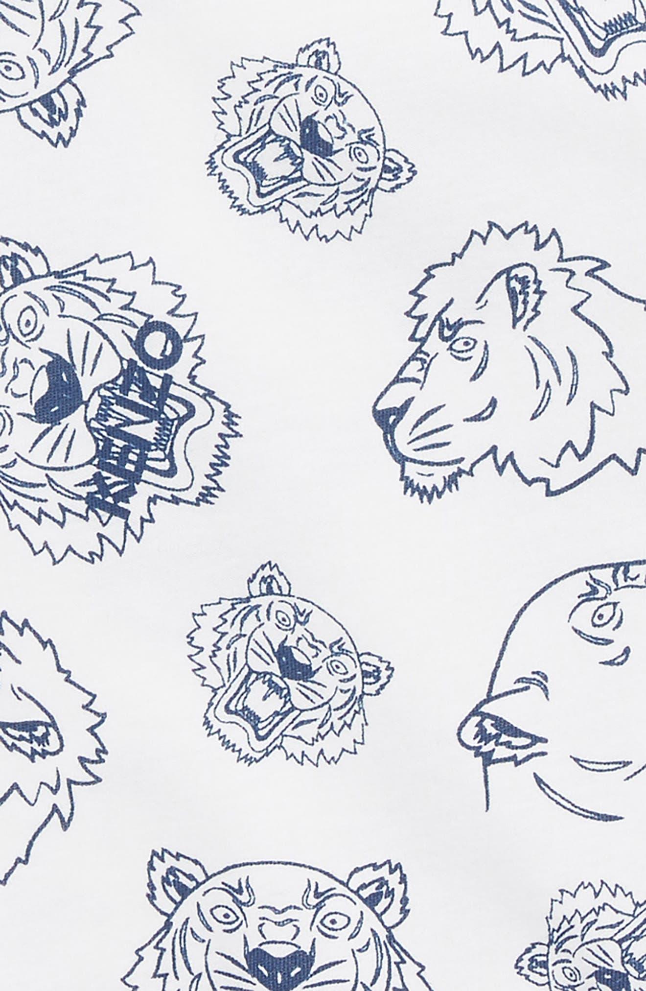 KENZO,                             Logo T-Shirt,                             Alternate thumbnail 2, color,                             135