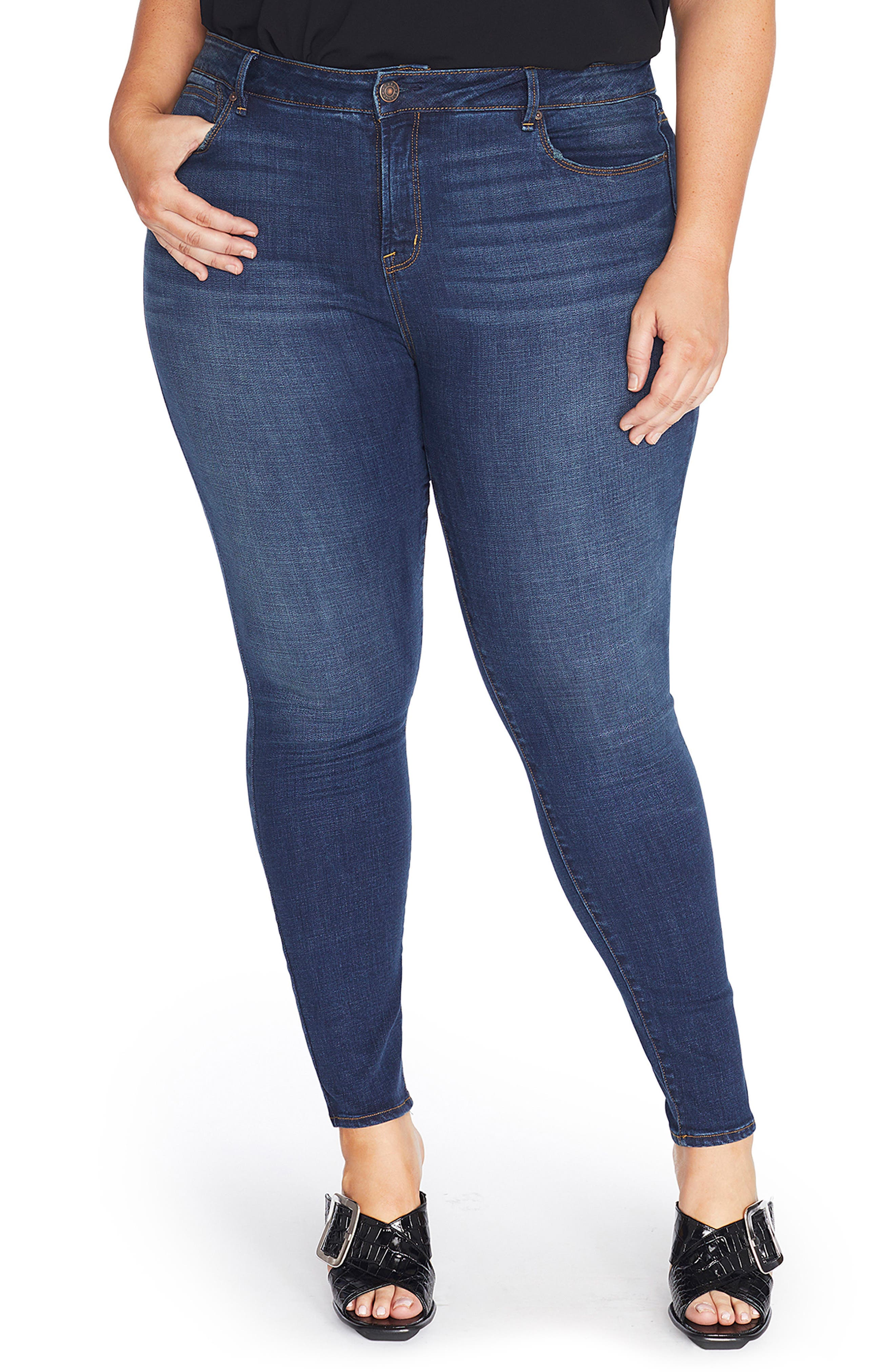 The Pin Up Super Skinny Jeans,                             Main thumbnail 4, color,