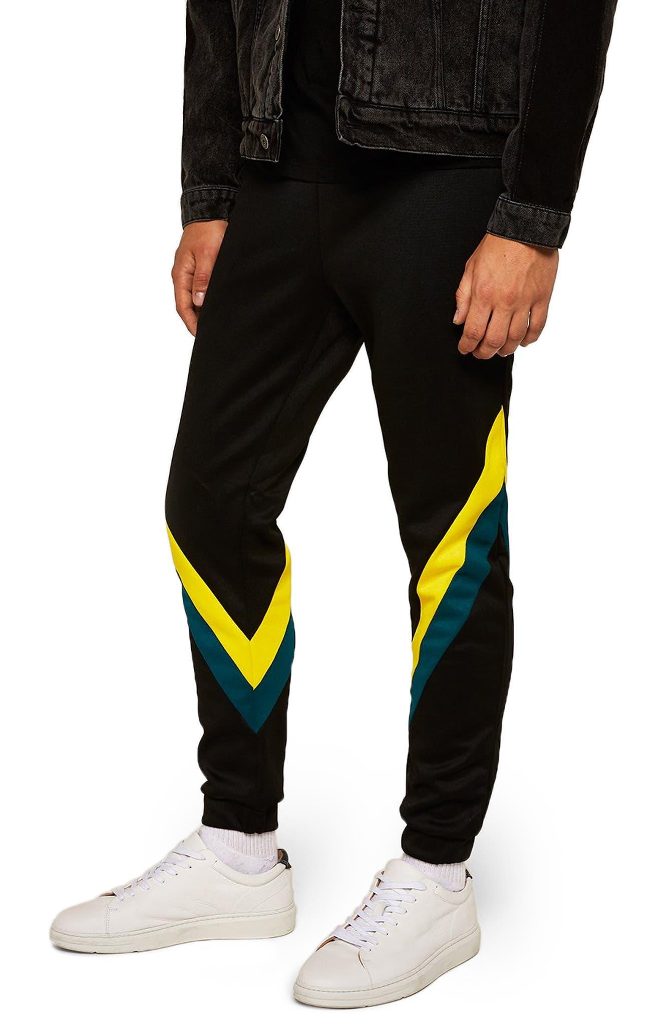 Splice Classic Fit Joggers,                         Main,                         color, BLACK MULTI