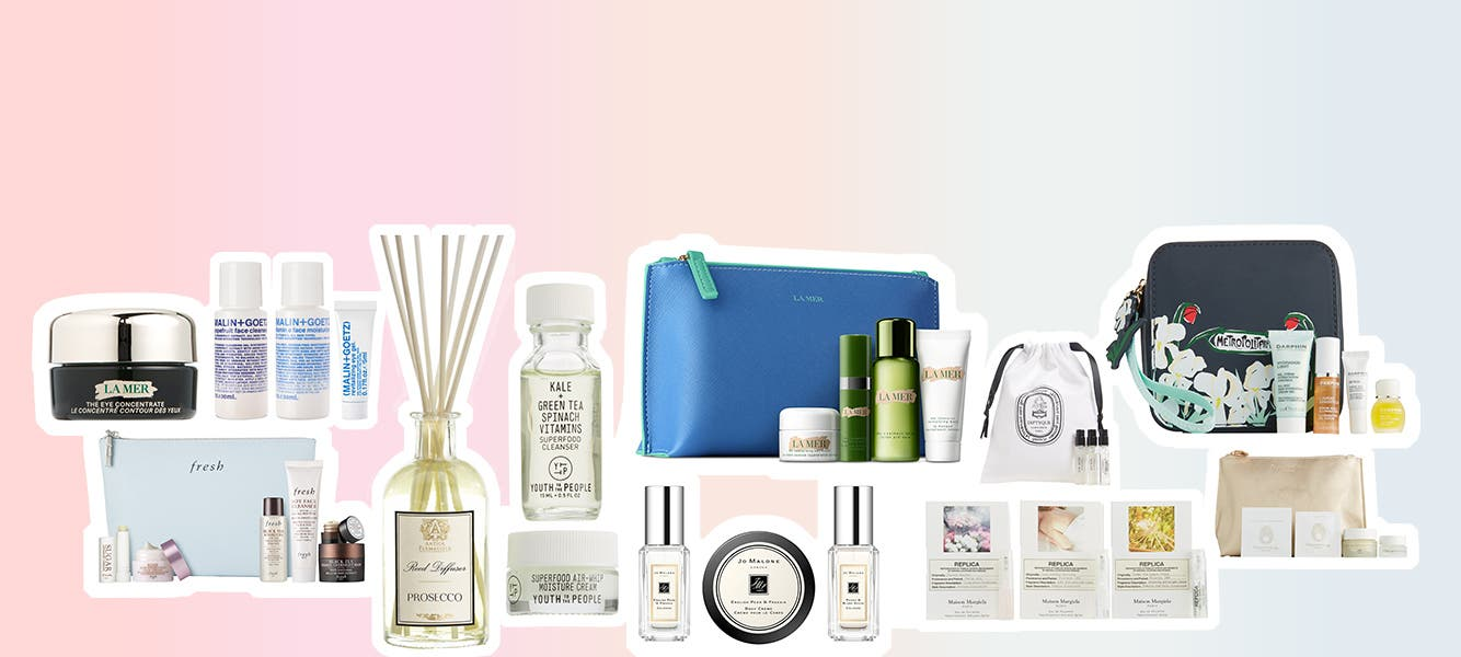 80+ free gifts with purchase. Up to $300 value.