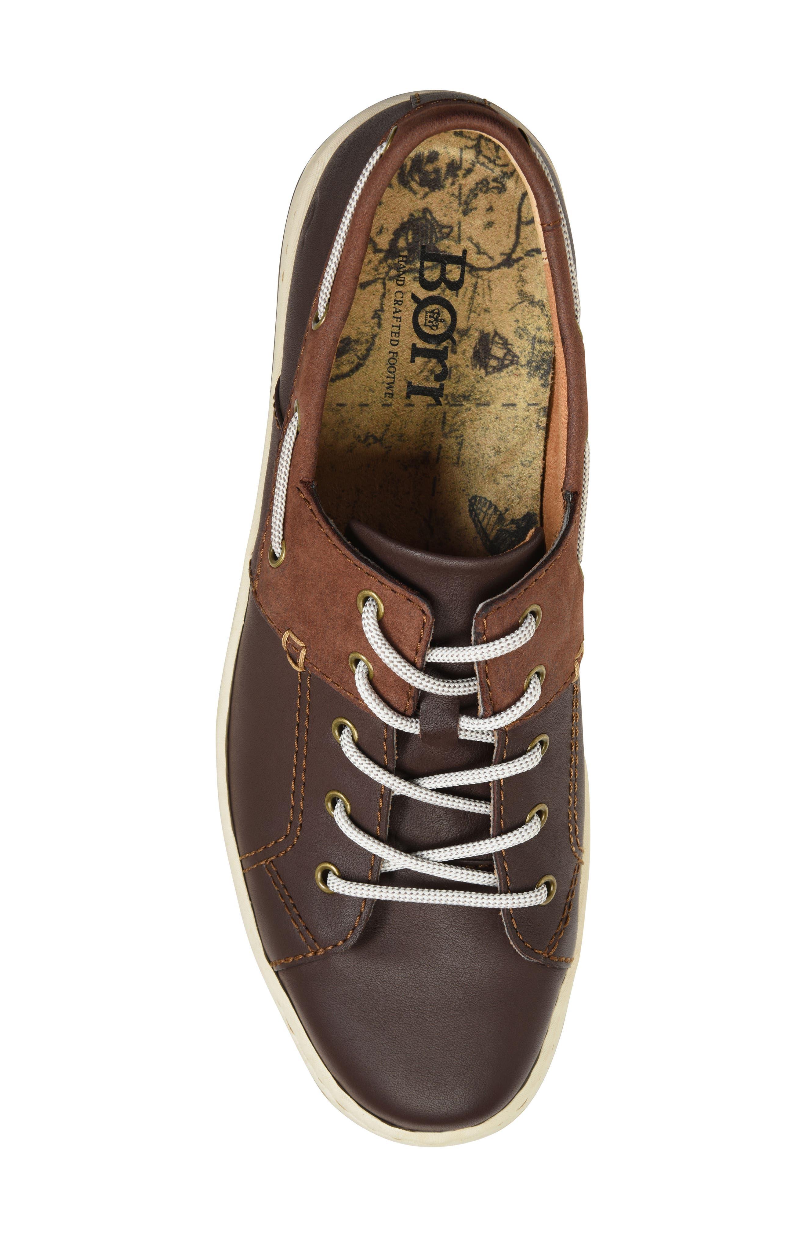 Marius Boat Shoe Sneaker,                             Alternate thumbnail 5, color,                             205
