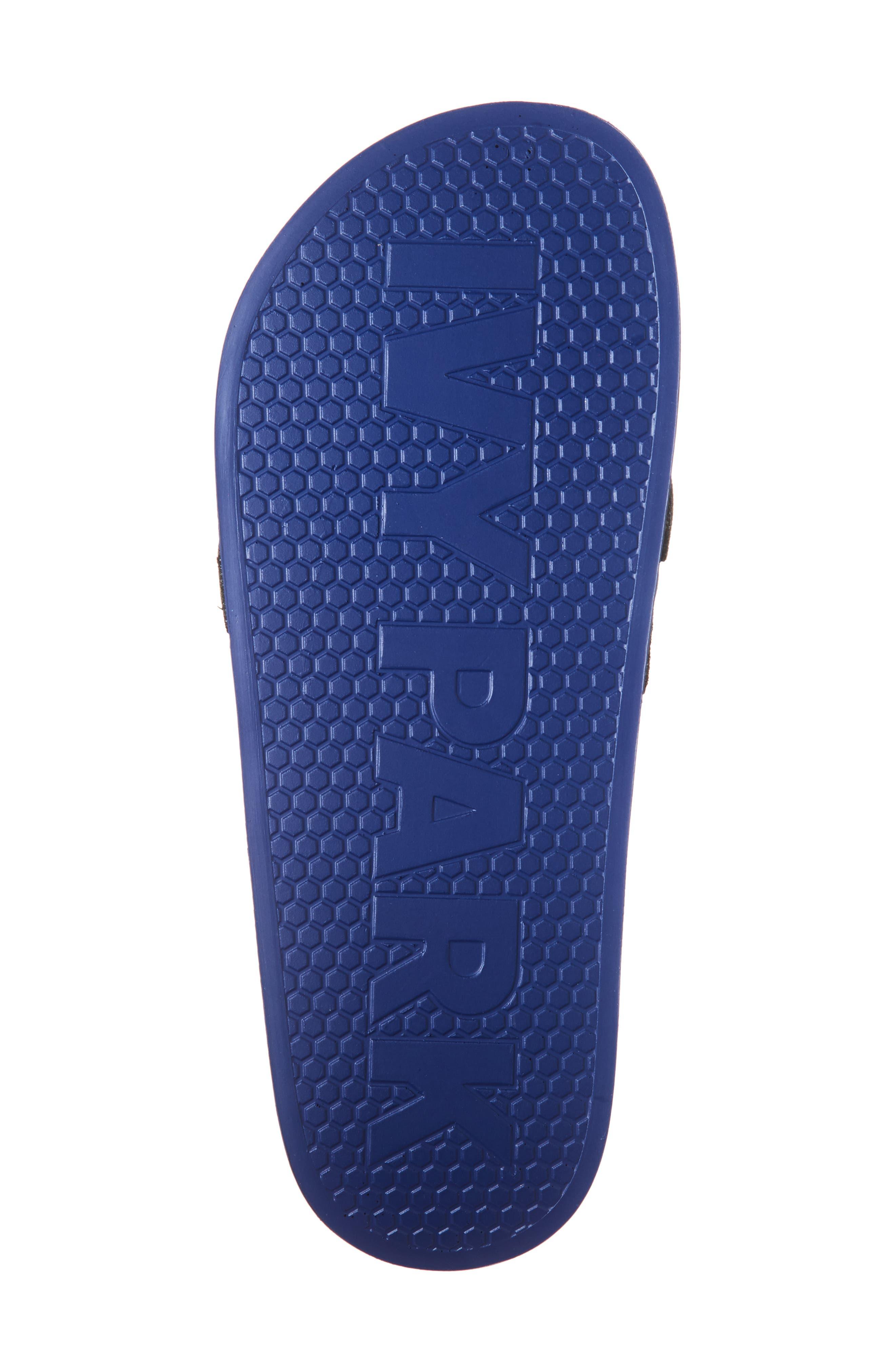 Logo Tape Slide Sandals,                             Alternate thumbnail 6, color,                             400