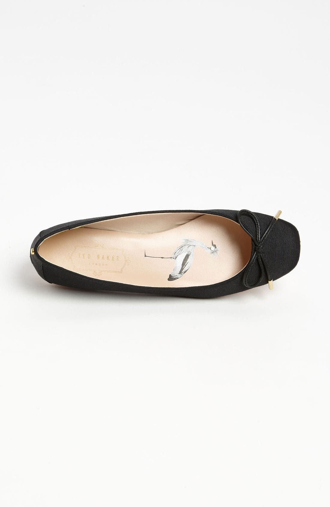 'Charee' Ballet Flat,                             Alternate thumbnail 3, color,                             011
