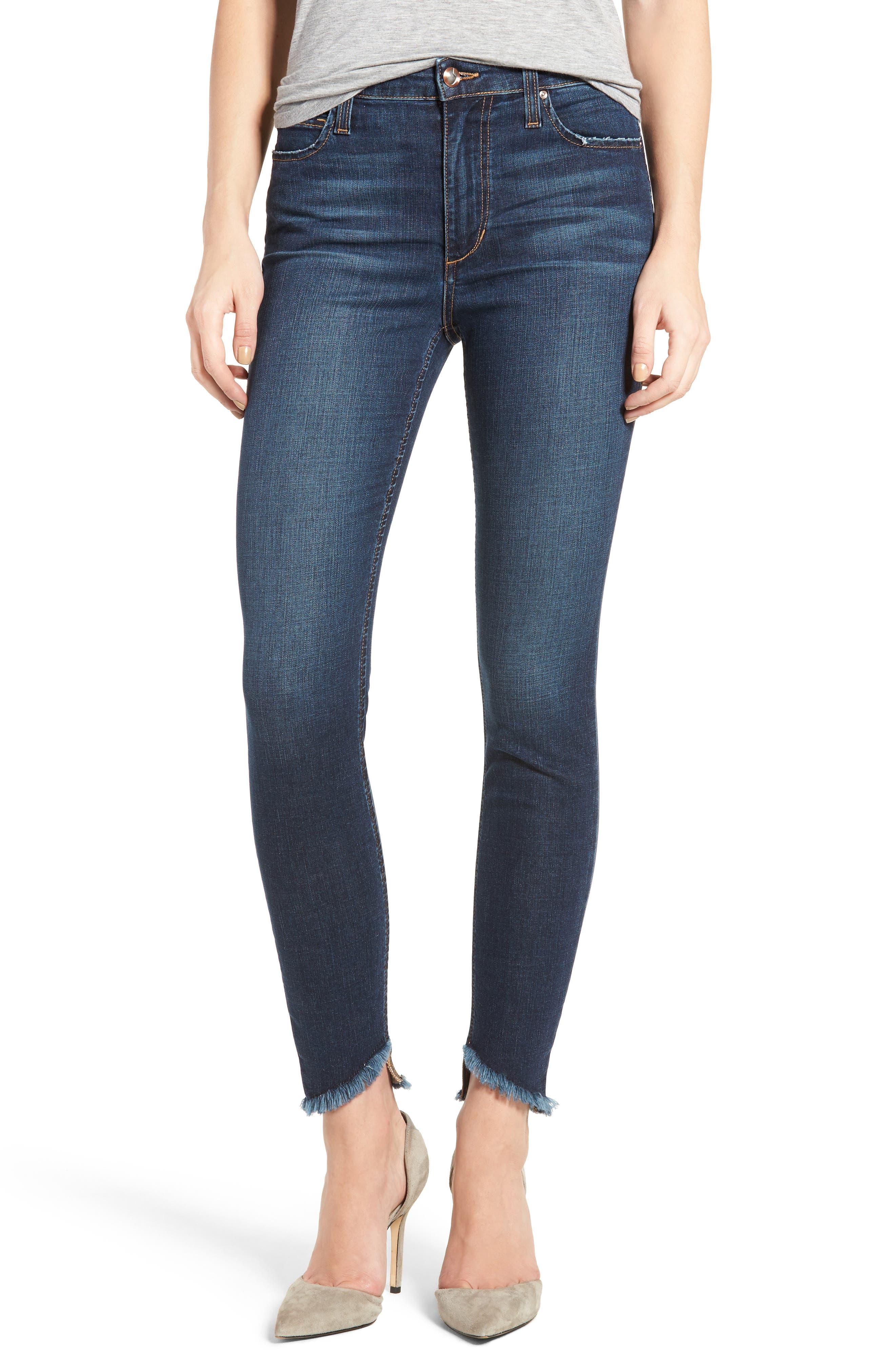 Flawless - Charlie Blondie Hem Jeans,                         Main,                         color,