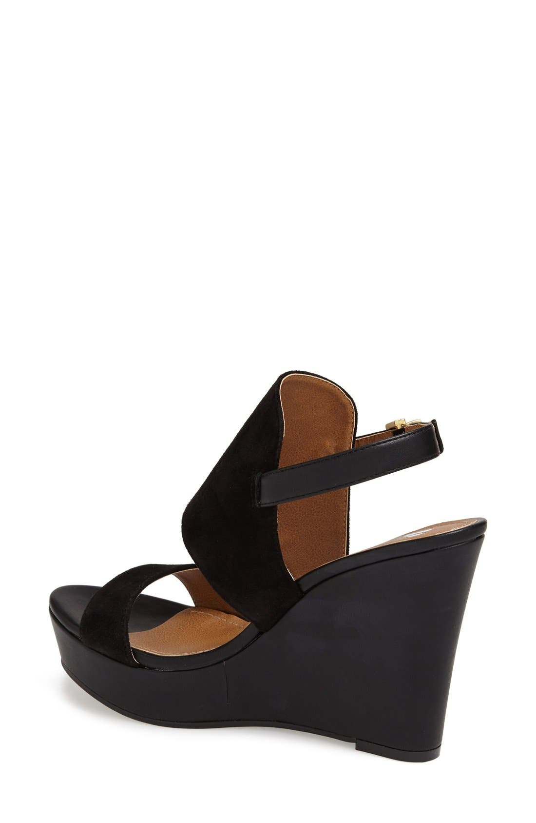 BP.,                             'Lena' Wedge Sandal,                             Alternate thumbnail 2, color,                             001
