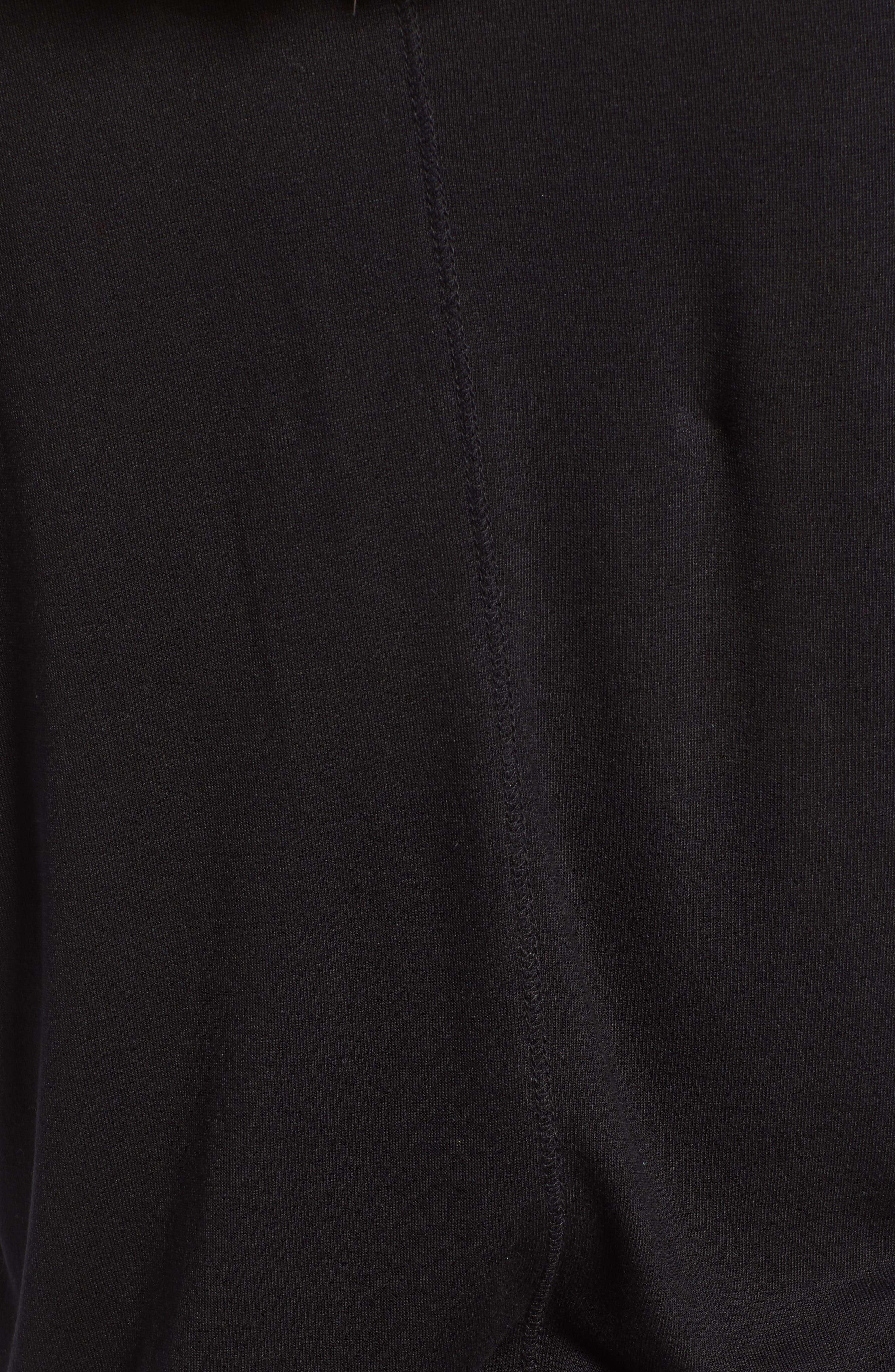 Long Sleeve Lightweight Tunic,                             Alternate thumbnail 6, color,                             001