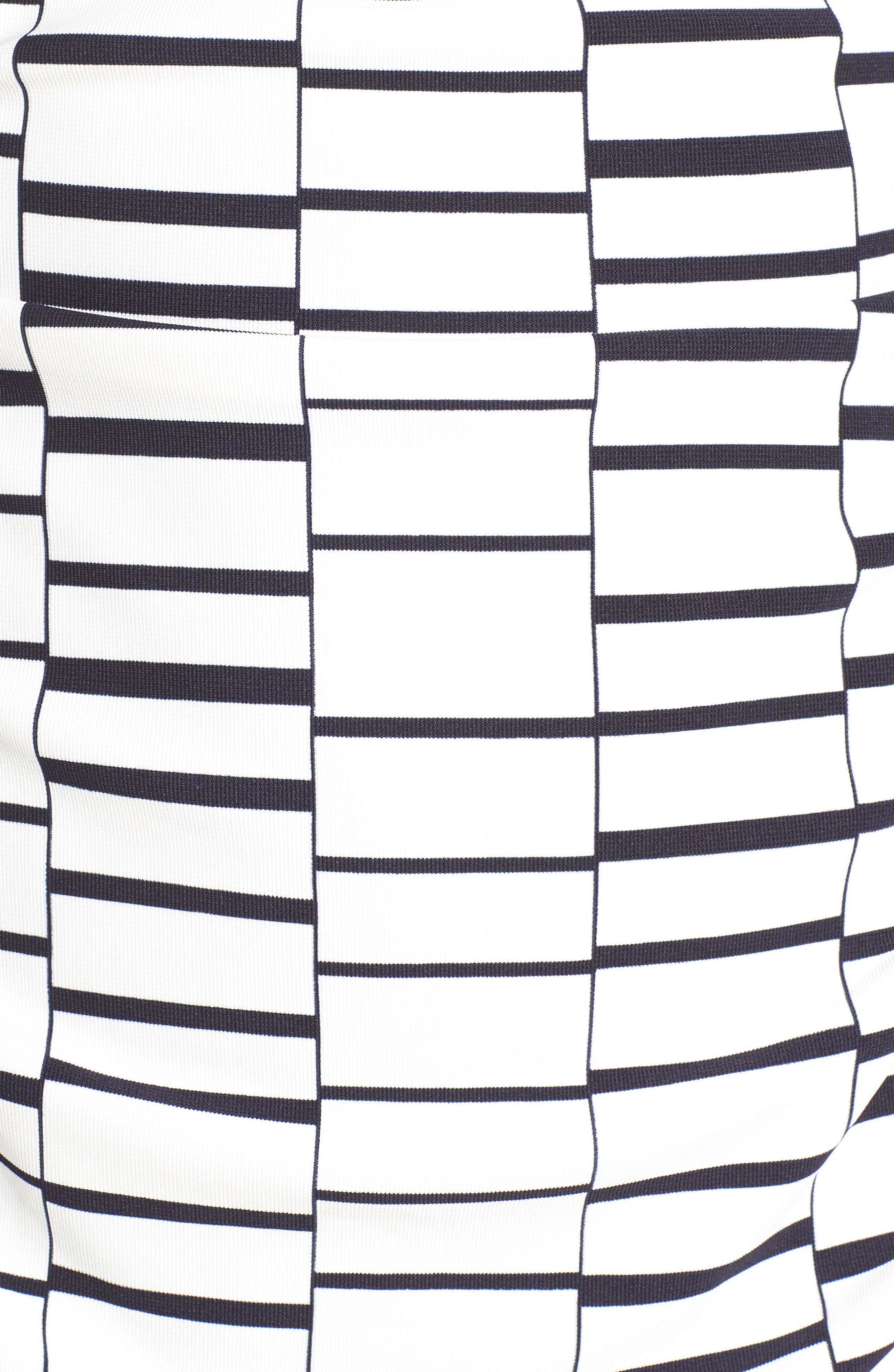 Ruched Body-Con Dress,                             Alternate thumbnail 5, color,                             900