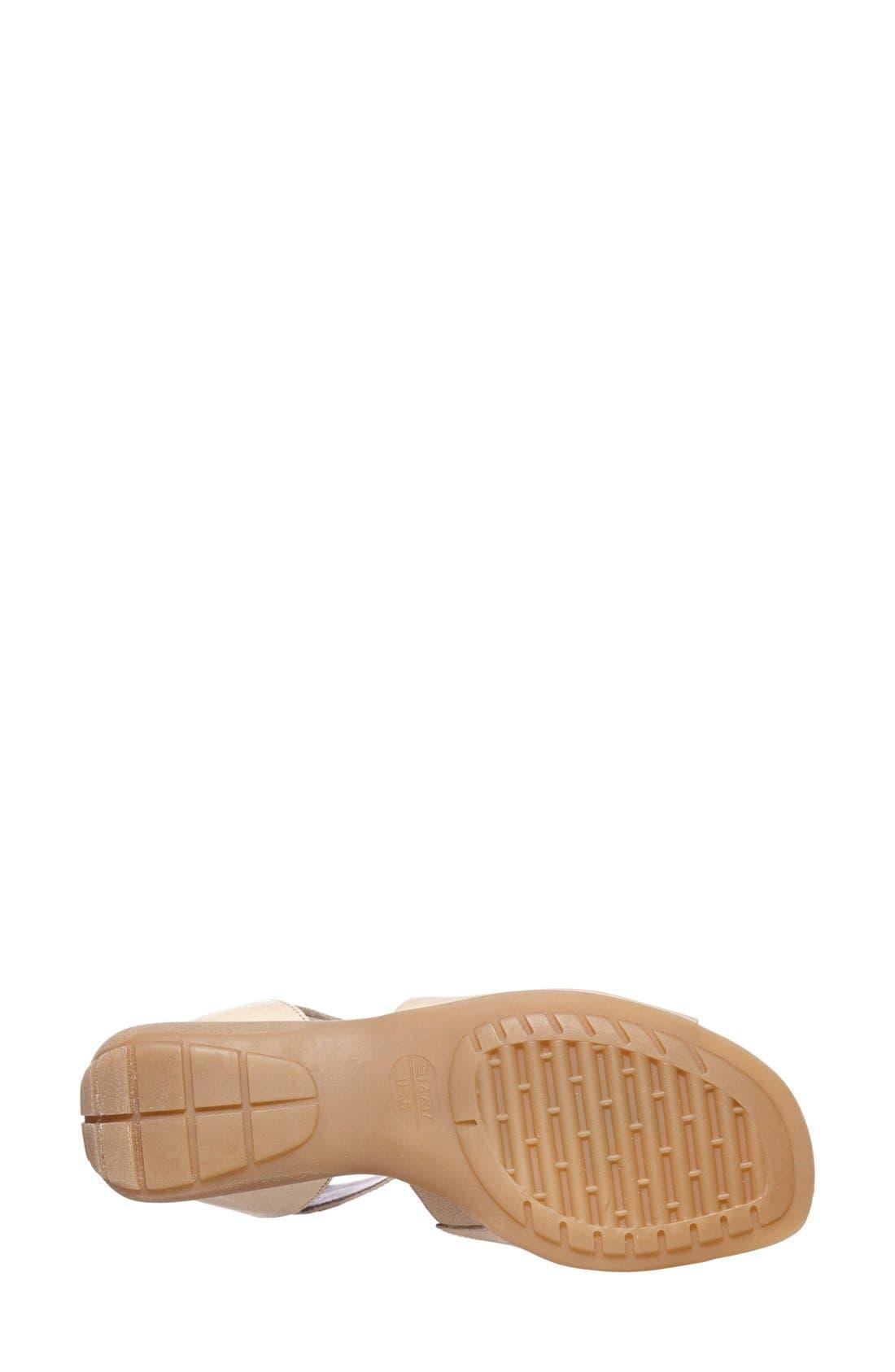 'Beglad' Leather Ankle Strap Sandal,                             Alternate thumbnail 62, color,