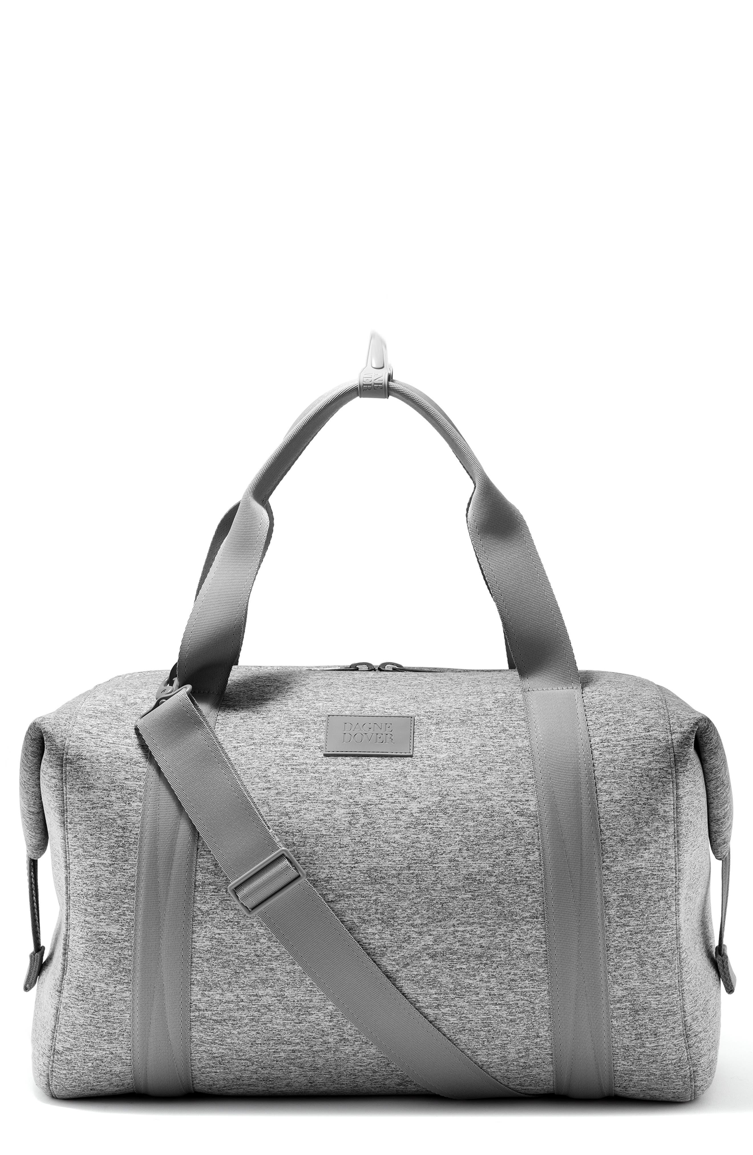 DAGNE DOVER Xl Landon Carryall Duffel Bag - Grey in Heather Grey