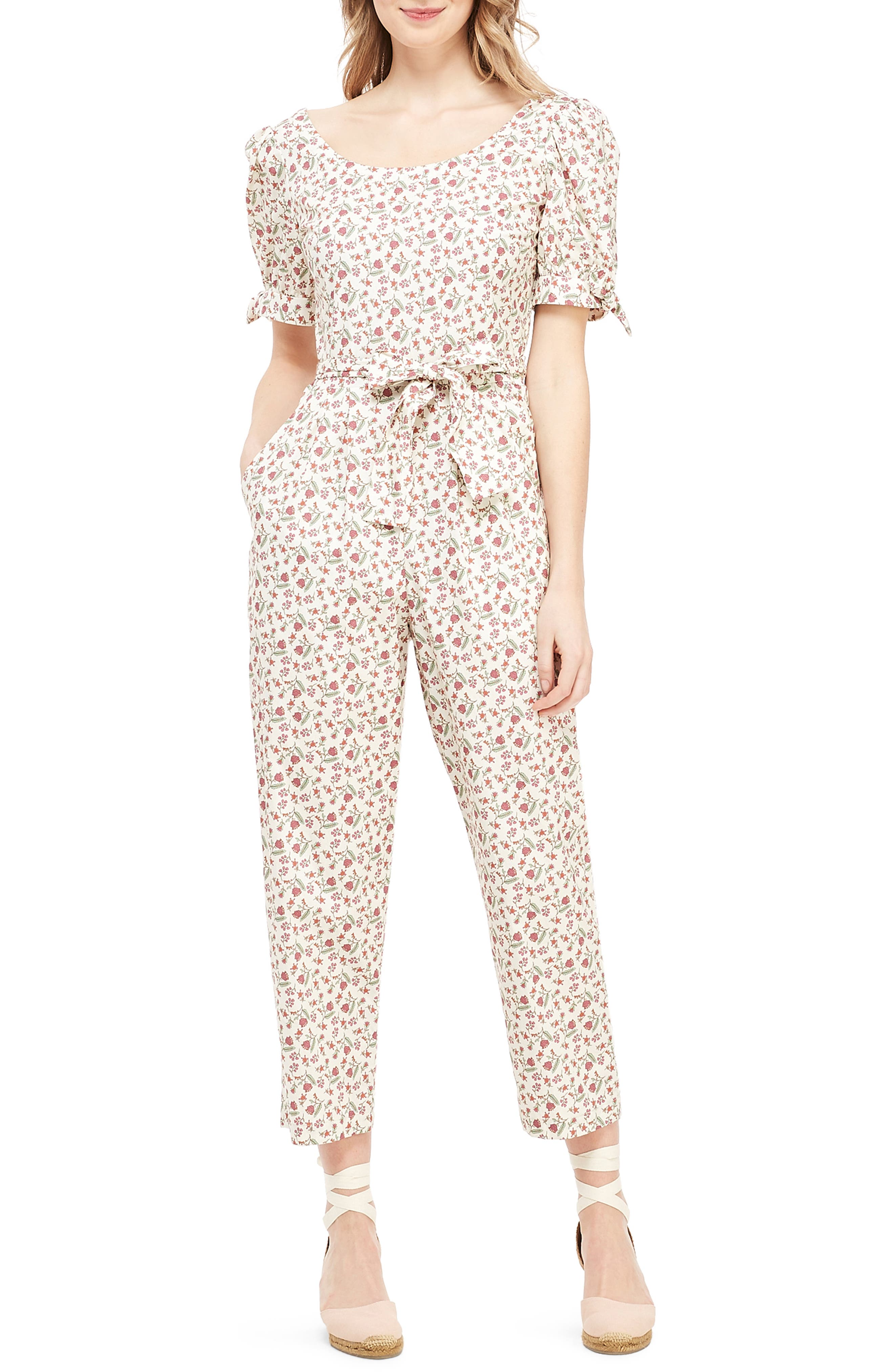 Iris Slim Cut Ankle Length Jumpsuit by Gal Meets Glam Collection